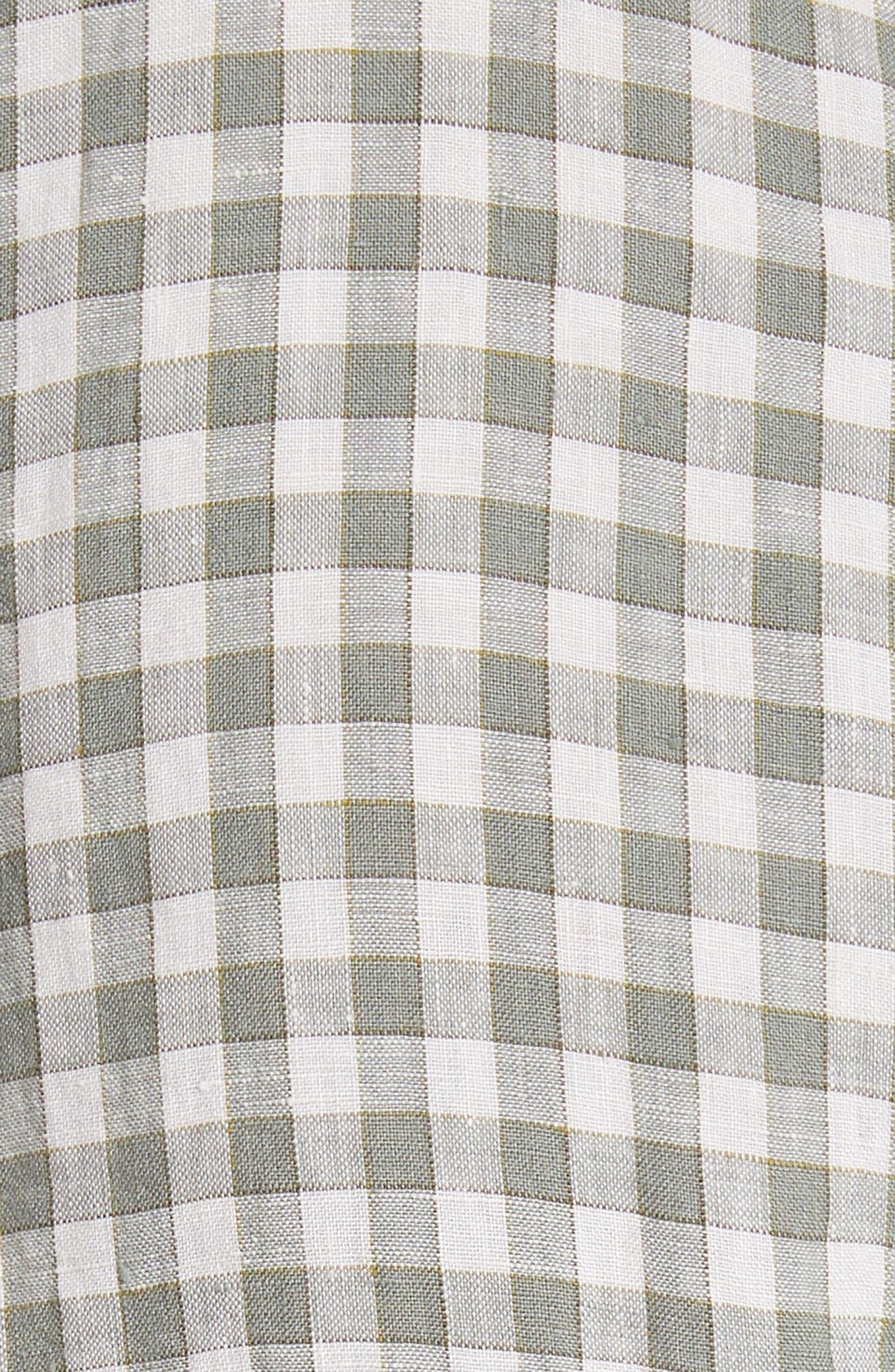 Check Woven Shirt,                             Alternate thumbnail 5, color,                             300