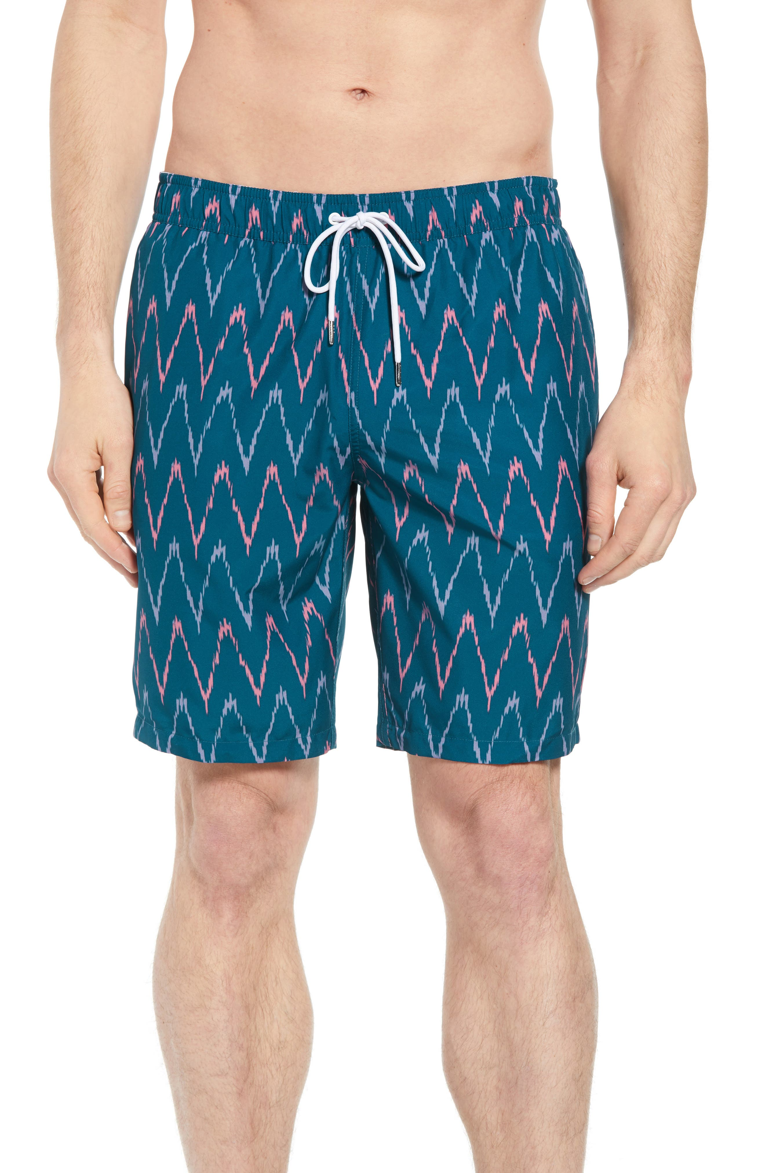 Banzai 9-Inch Swim Trunks,                         Main,                         color, 400