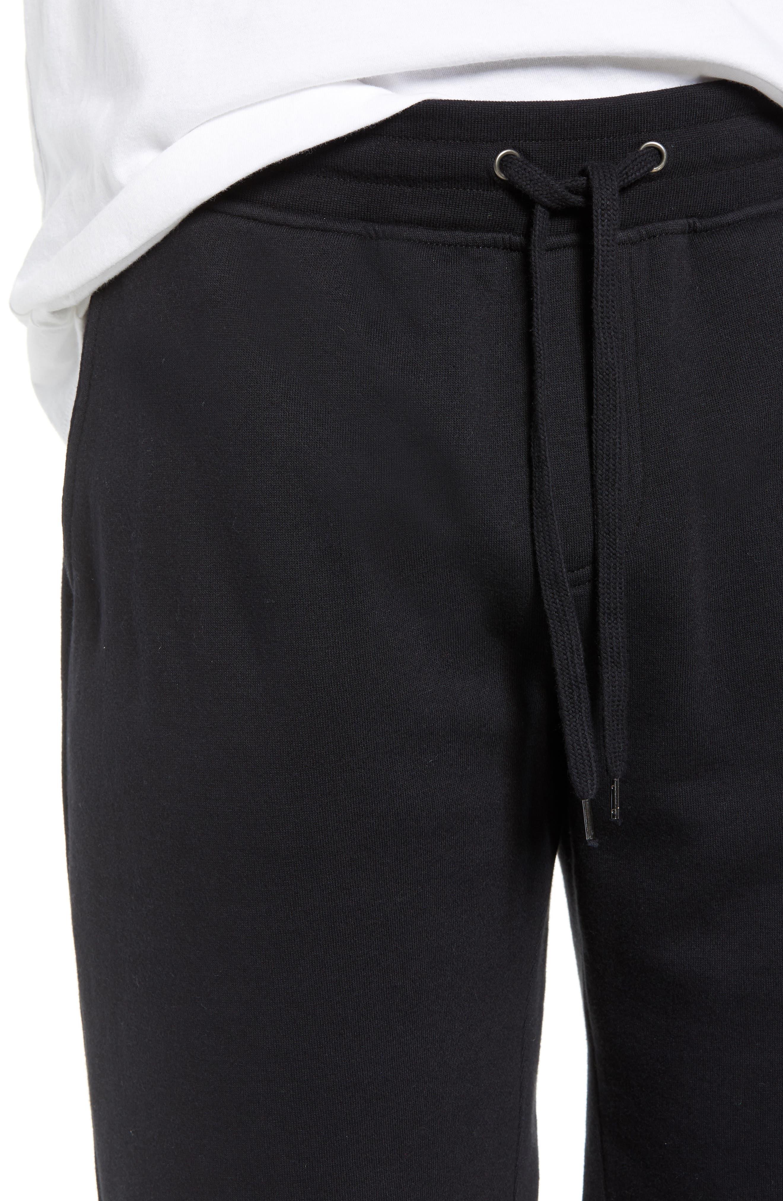 THE RAIL,                             Fleece Shorts,                             Alternate thumbnail 4, color,                             001