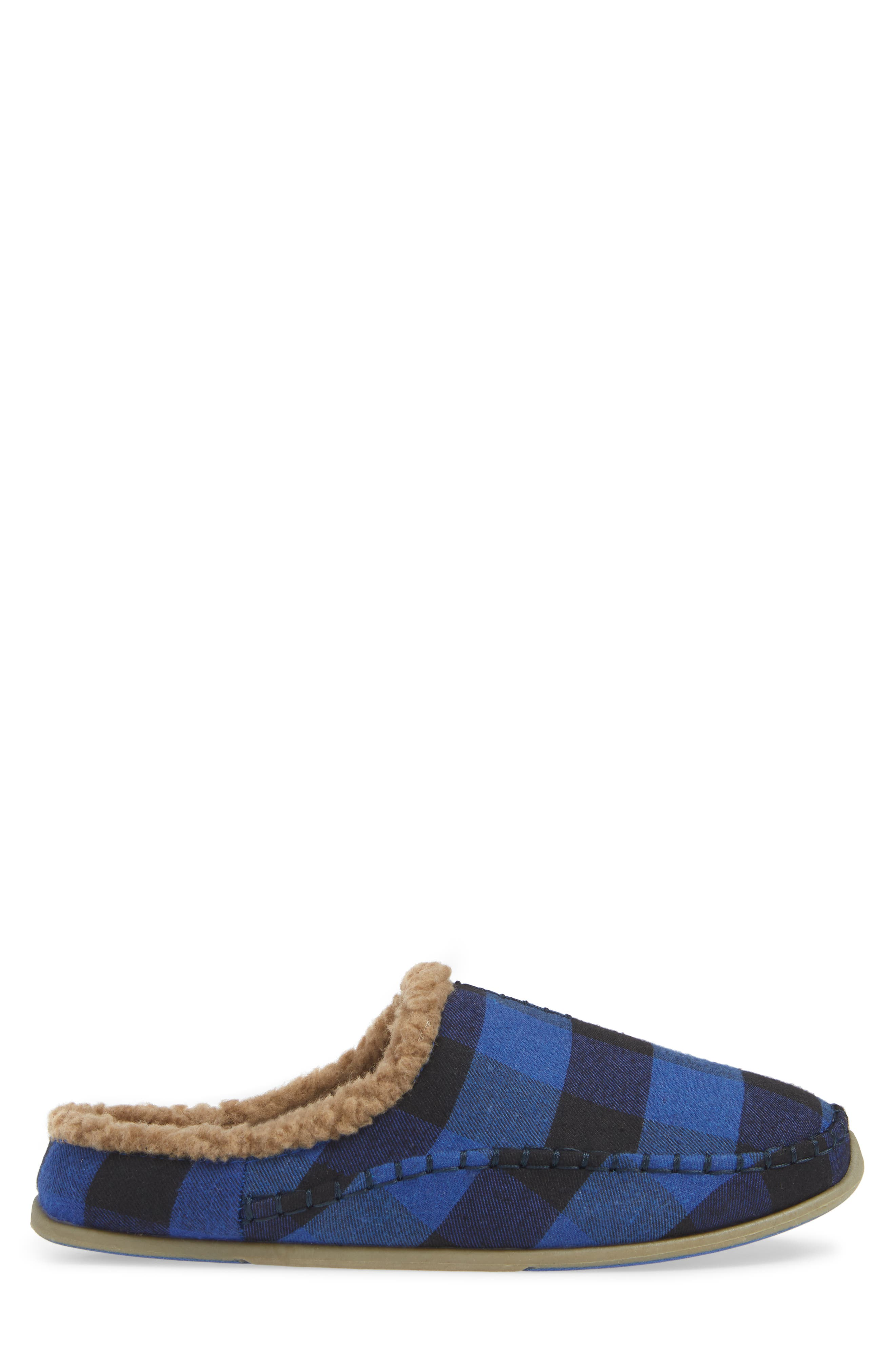 Nordic Slipper,                             Alternate thumbnail 3, color,                             BLUE / BLACK