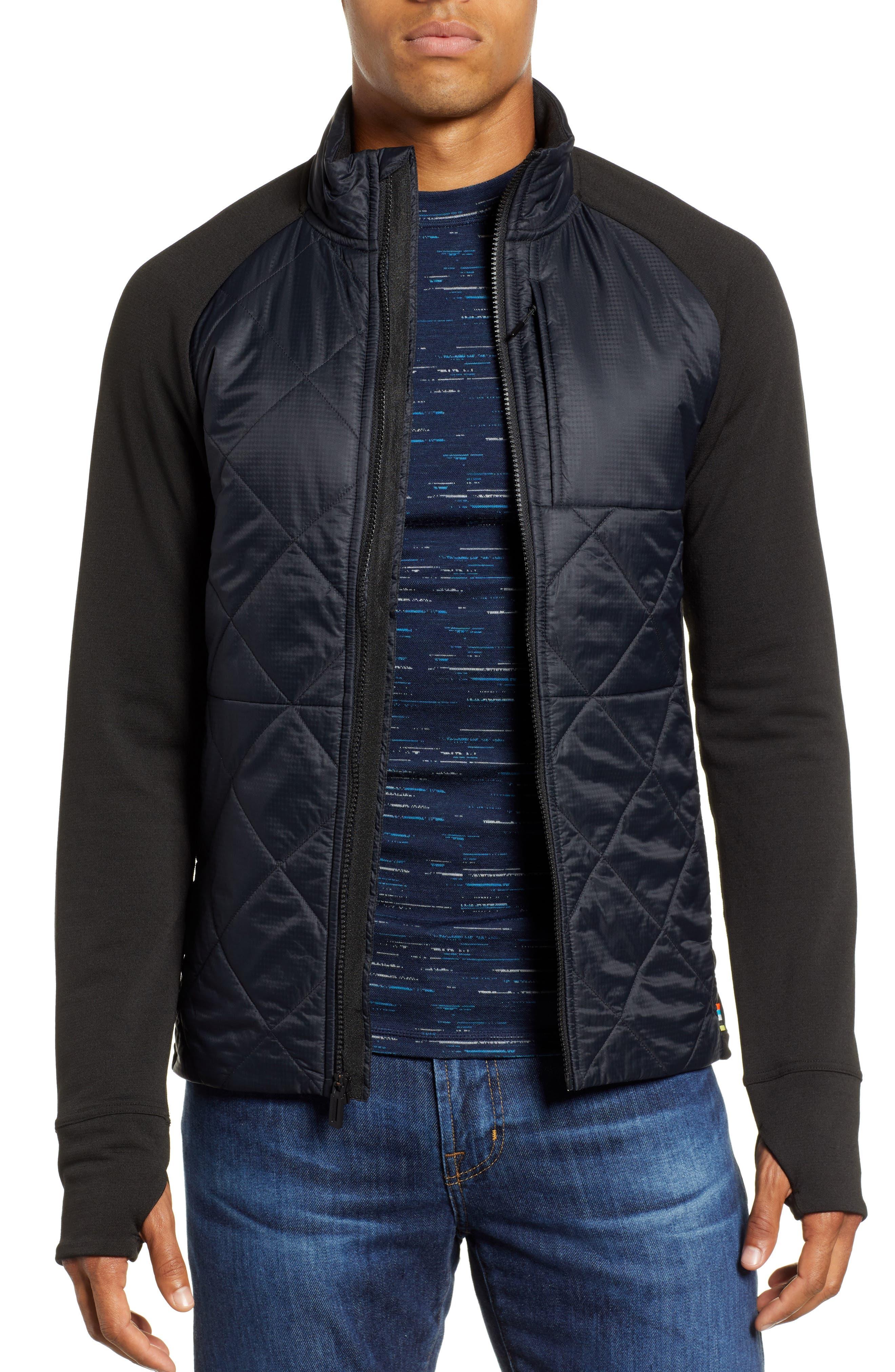 Regular Fit SmartLoft 120 Jacket,                             Main thumbnail 1, color,                             BLACK