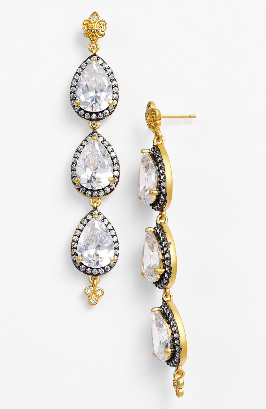 'Femme' Linear Earrings,                             Main thumbnail 1, color,