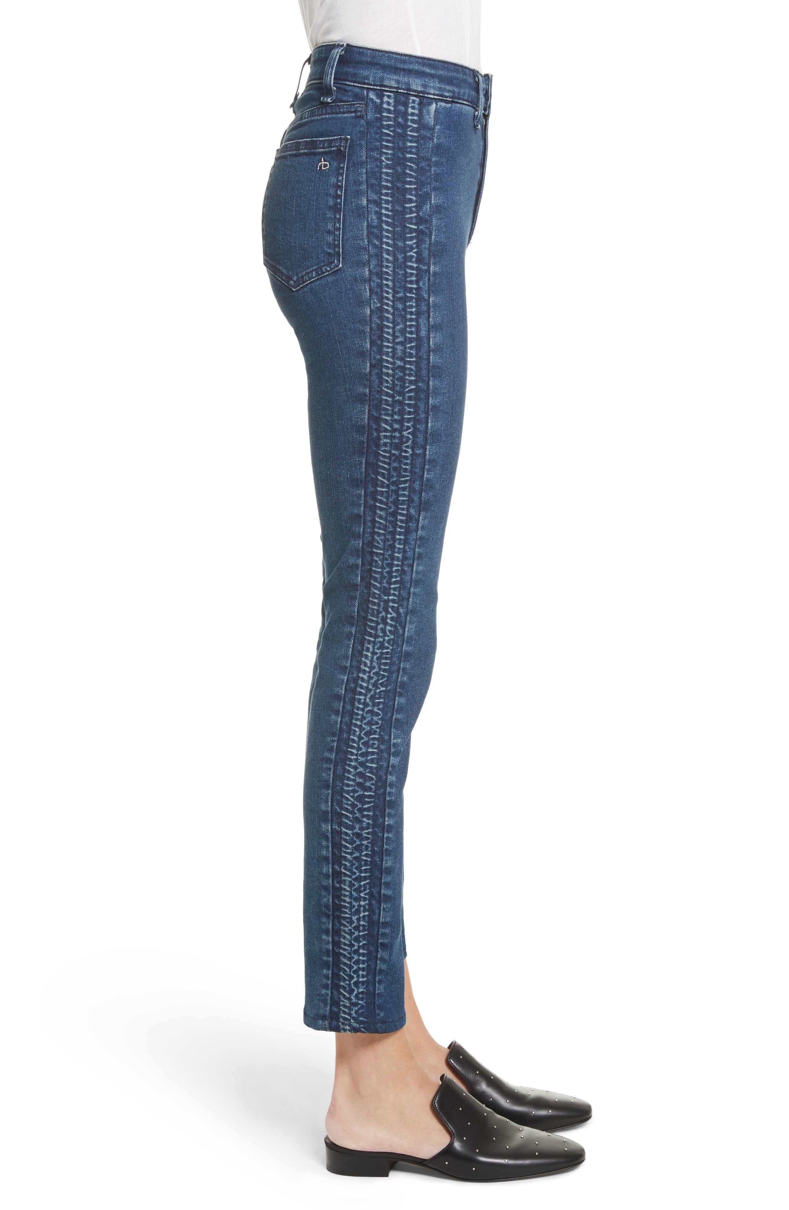 Ranata Tuxedo Cigarette Jeans,                             Alternate thumbnail 3, color,