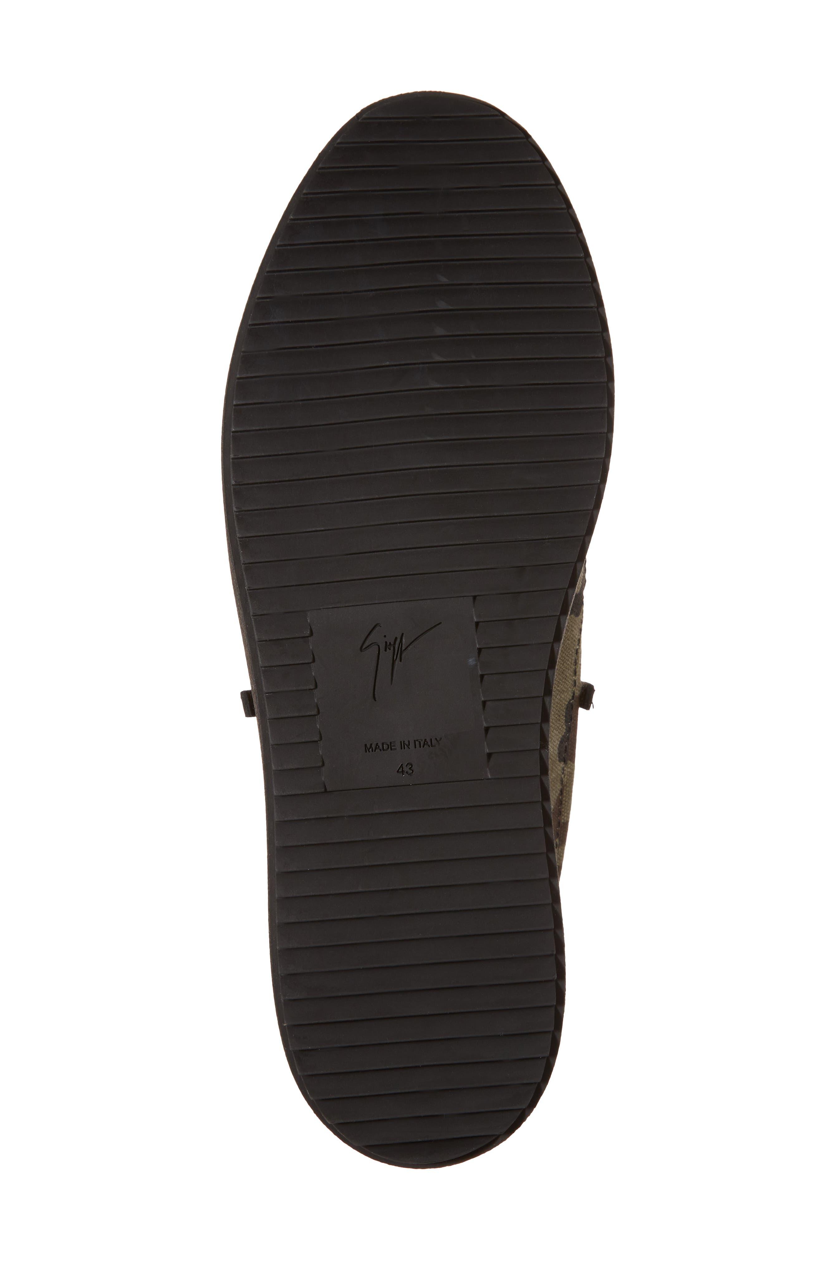 Camo Sneaker,                             Alternate thumbnail 6, color,                             001
