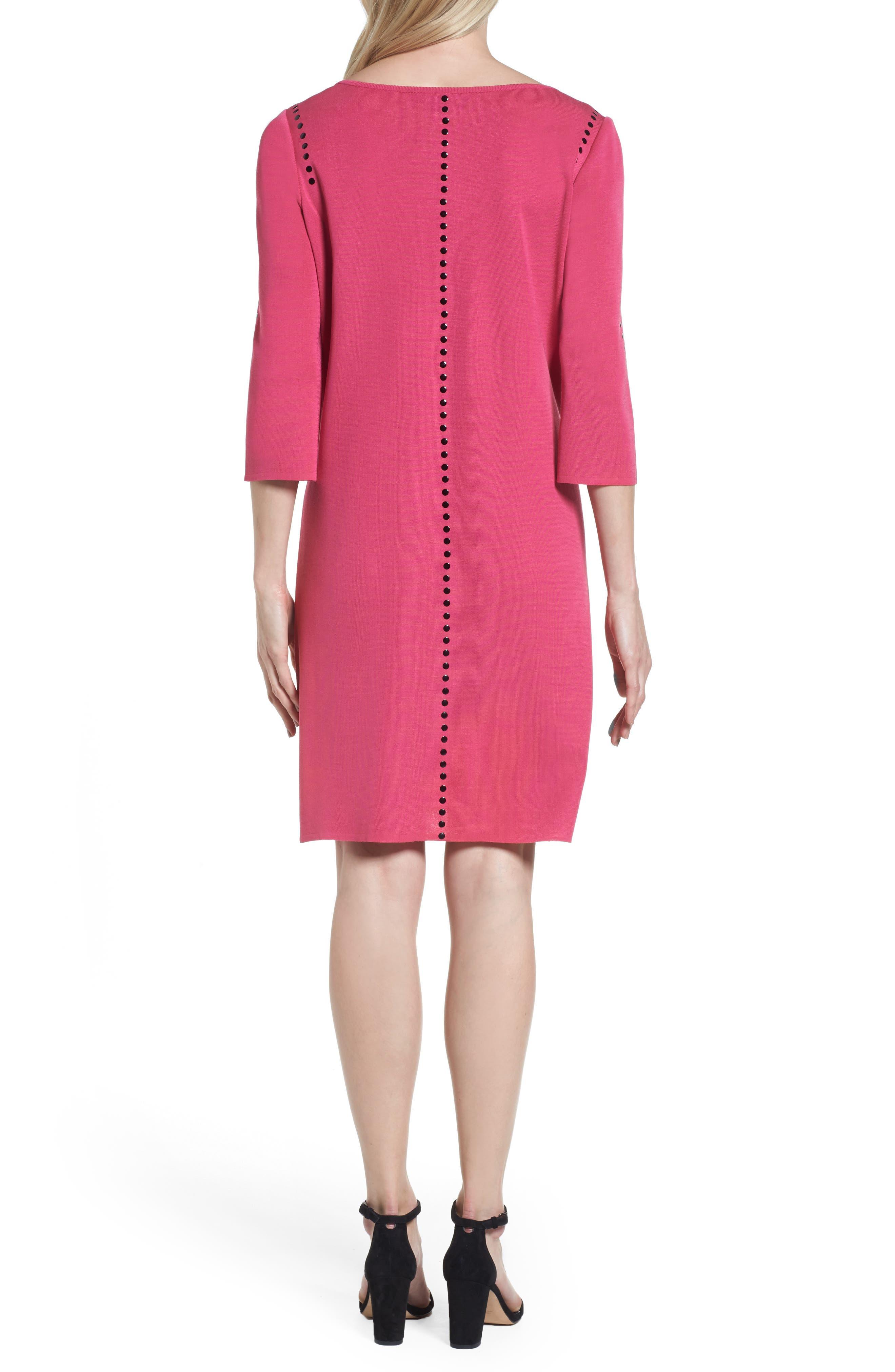 Studded Sweater Dress,                             Alternate thumbnail 2, color,                             643