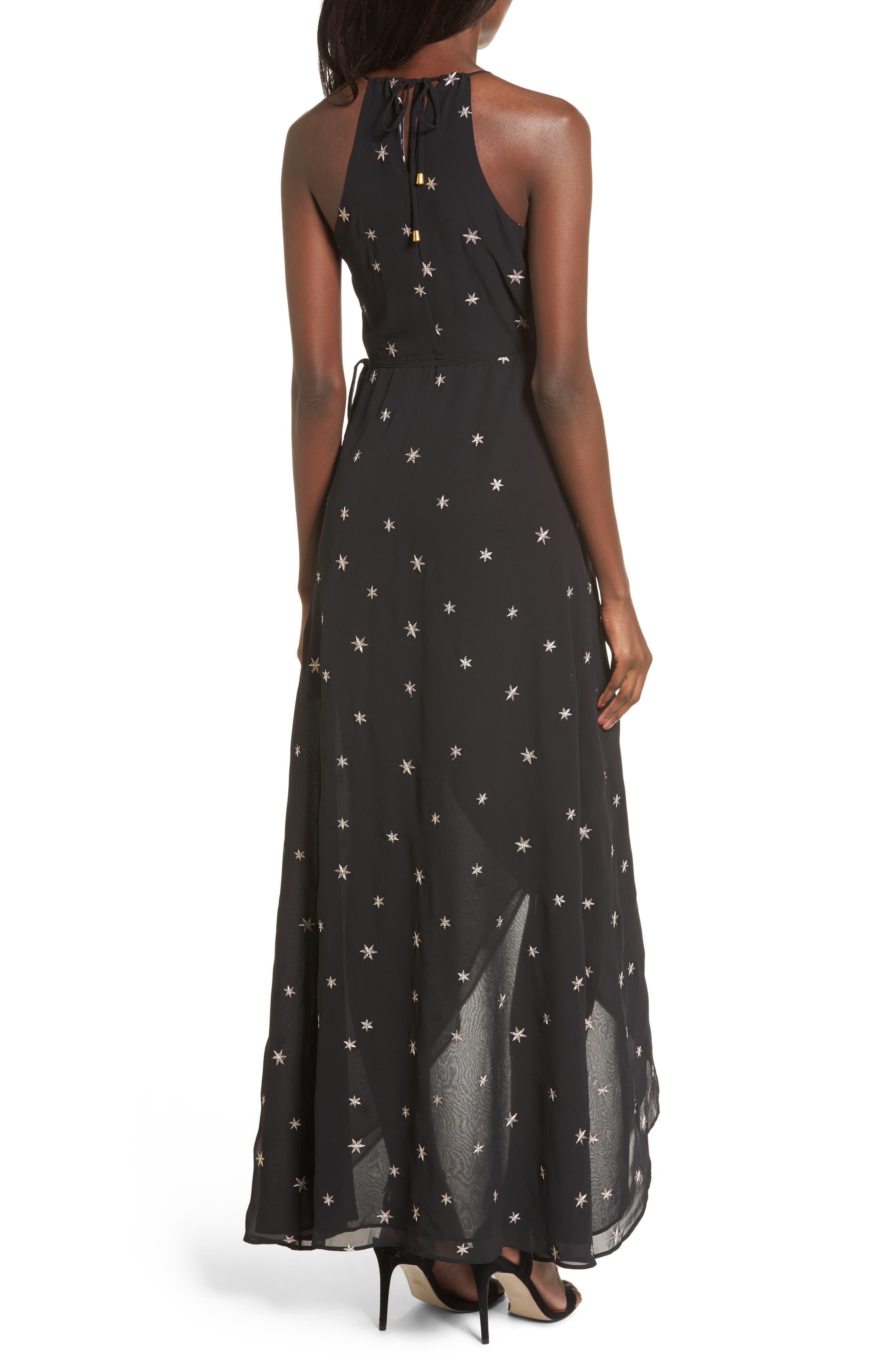 Nostalgia Maxi Dress,                             Alternate thumbnail 2, color,                             001