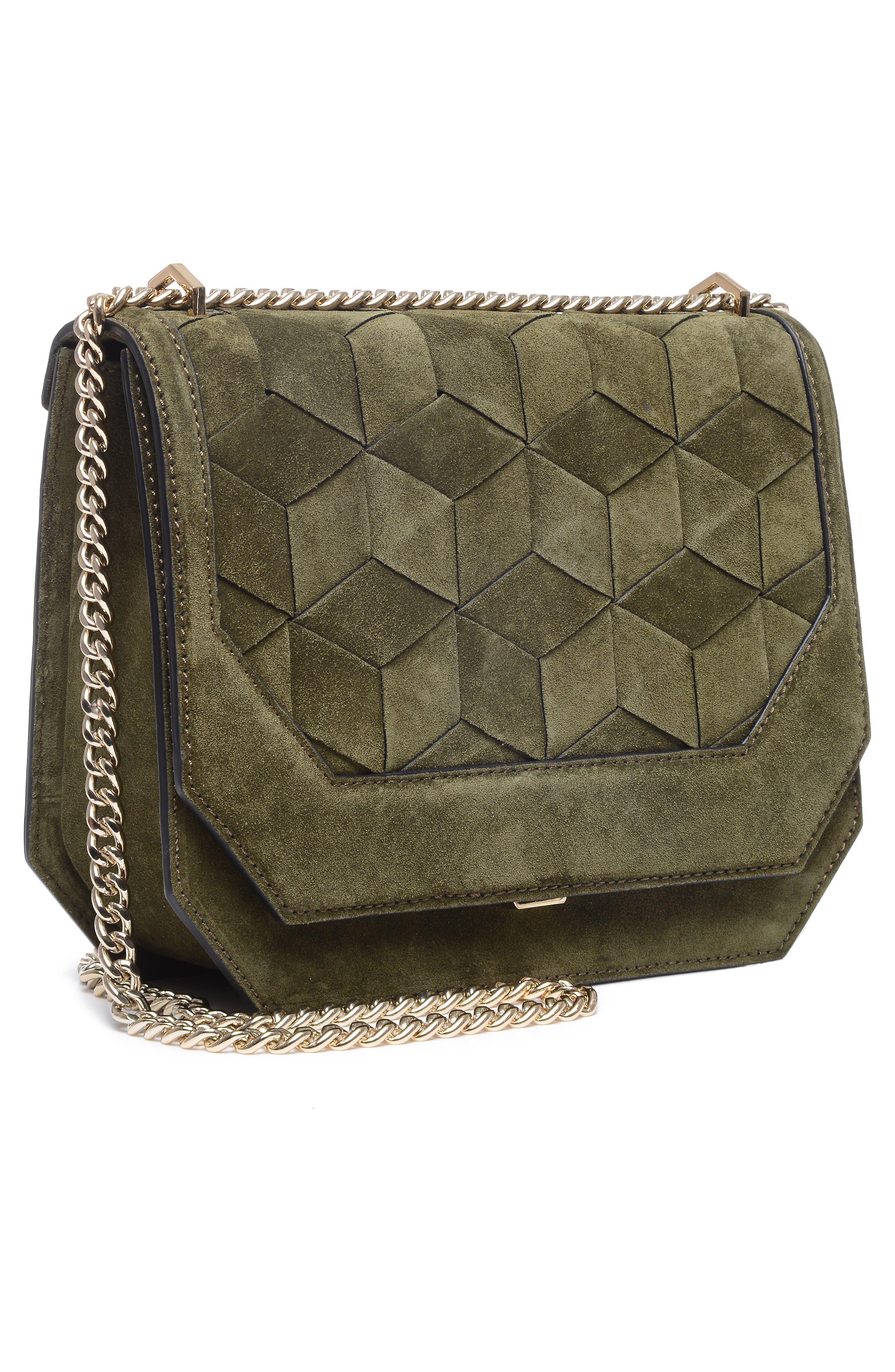 Supine Suede Shoulder Bag,                             Alternate thumbnail 6, color,                             300