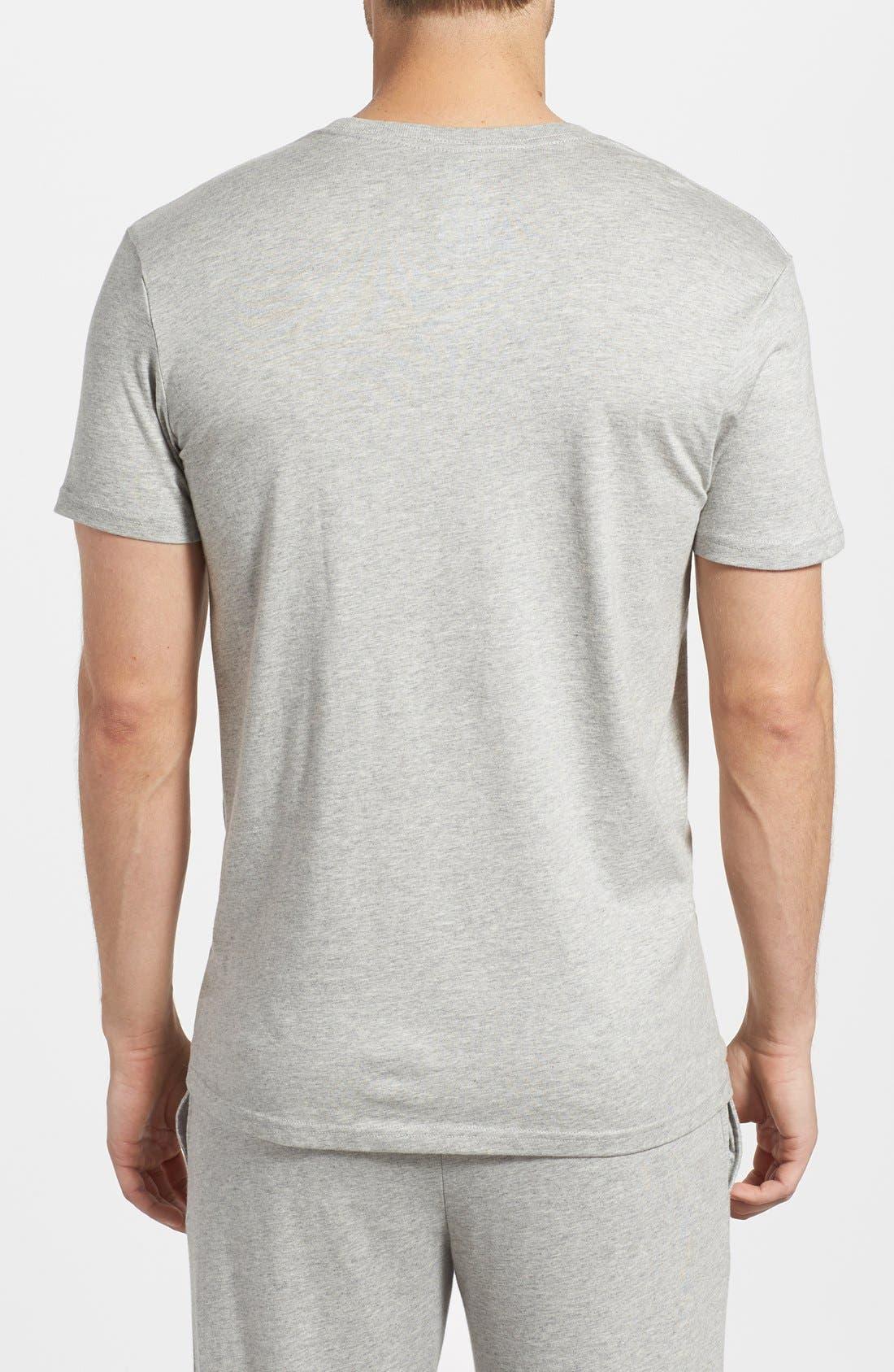 Crewneck T-Shirt,                             Alternate thumbnail 2, color,                             ANDOVER HEATHER