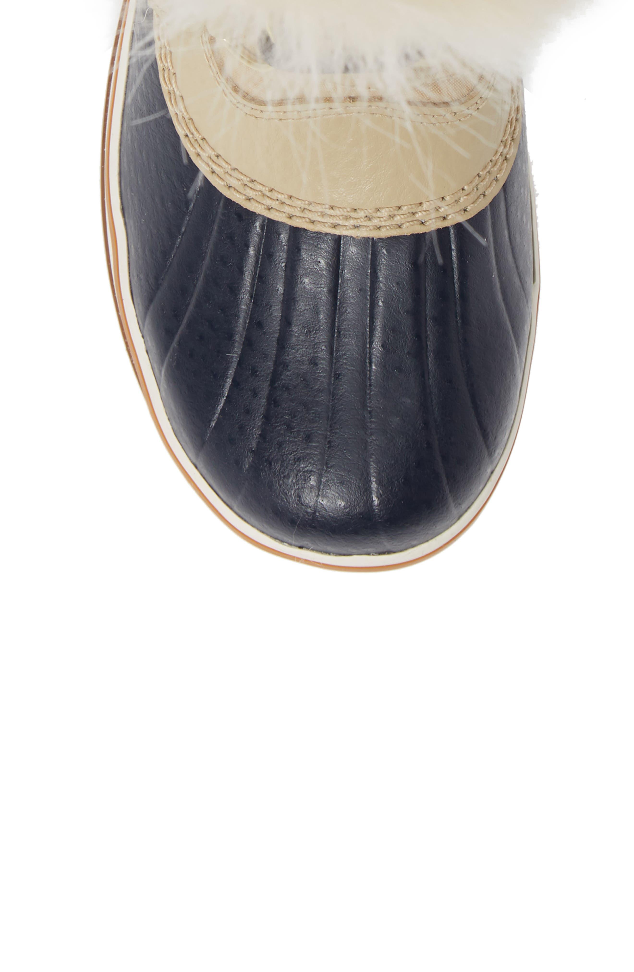 'Tofino II' Faux Fur Lined Waterproof Boot,                             Alternate thumbnail 5, color,                             OATMEAL
