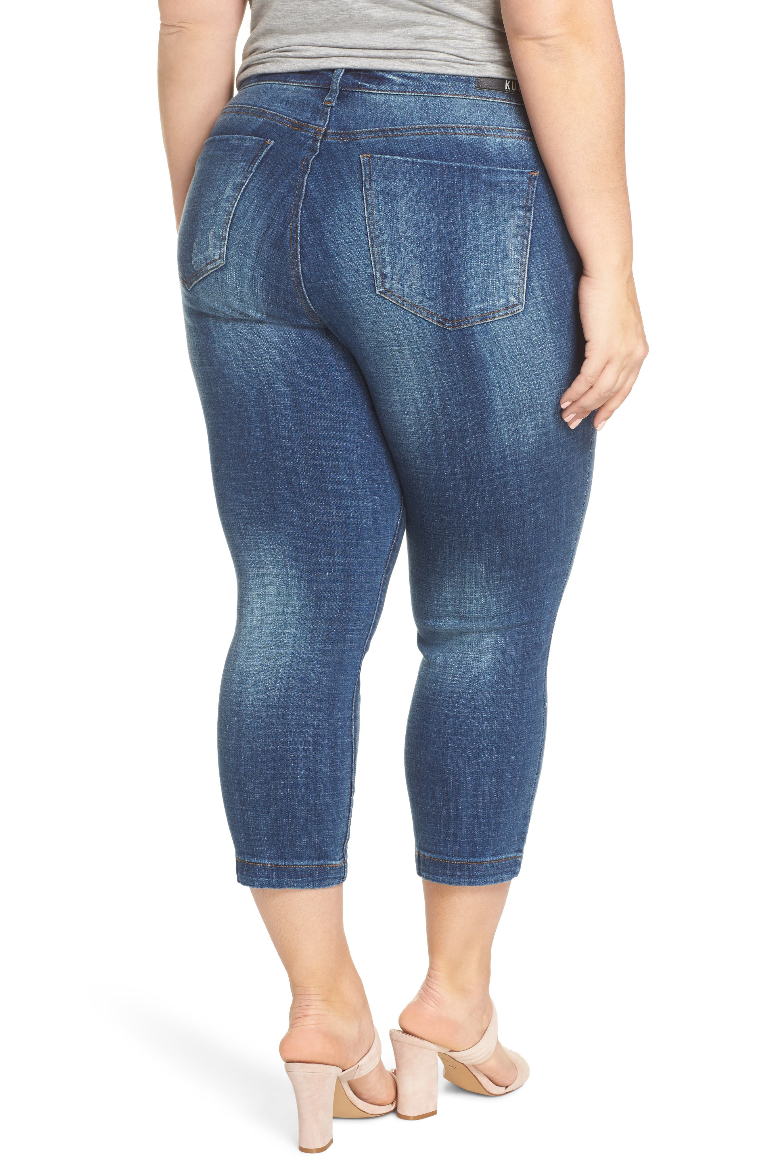 Lauren Crop Jeans,                             Alternate thumbnail 2, color,                             ENTRUSTED