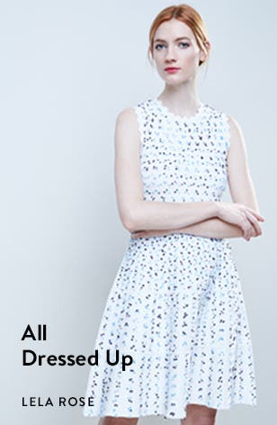This spring, these designer dresses. From Lela Rose and more.