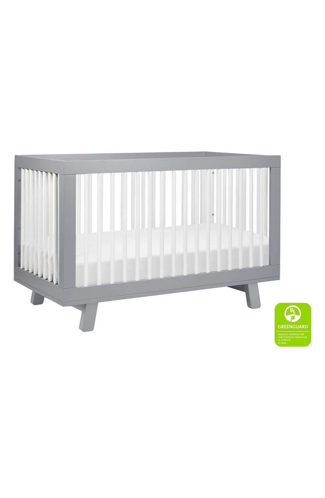 'Hudson' 3-in-1 Convertible Crib,                             Alternate thumbnail 22, color,