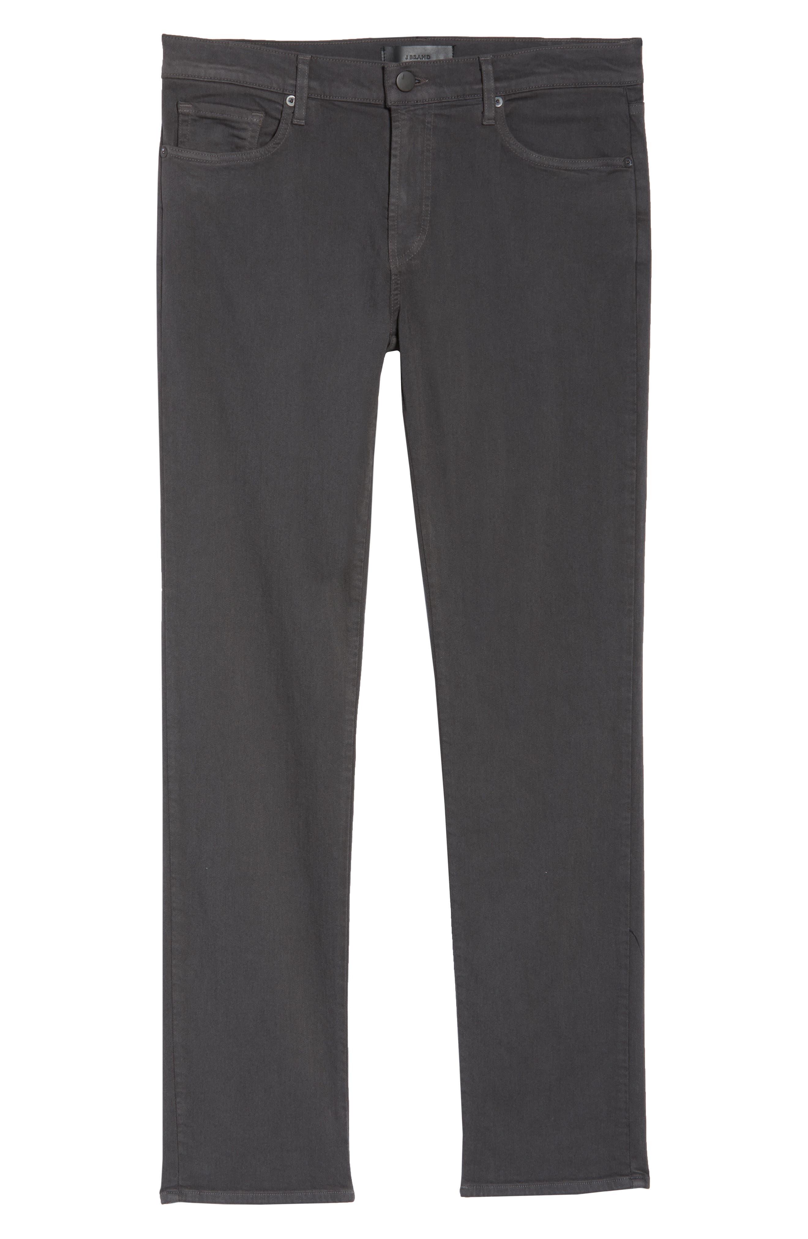 Tyler Slim Fit Jeans,                             Alternate thumbnail 5, color,                             ASPHALT