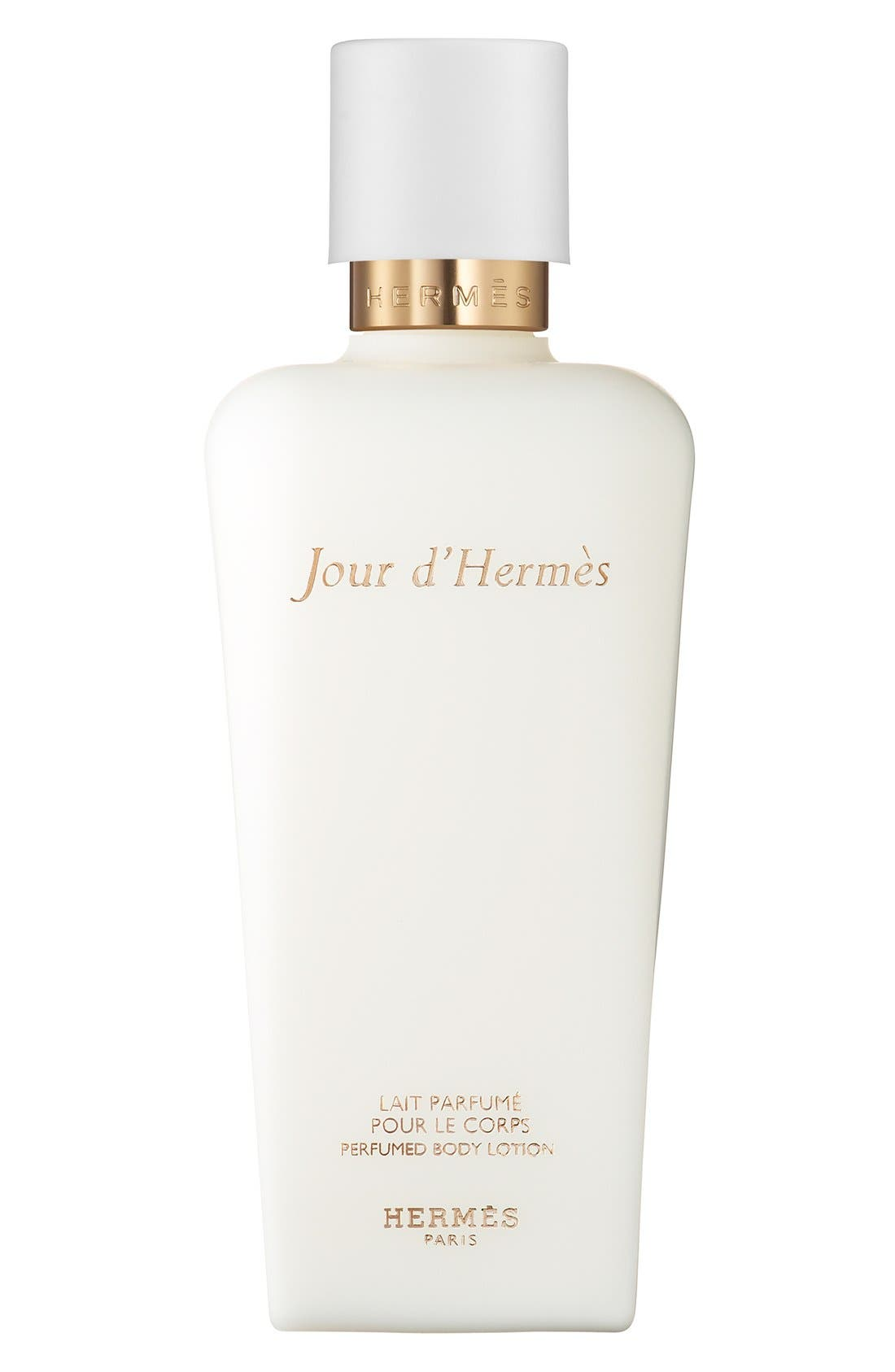 Jour d'Hermès - Perfumed body lotion,                             Main thumbnail 1, color,