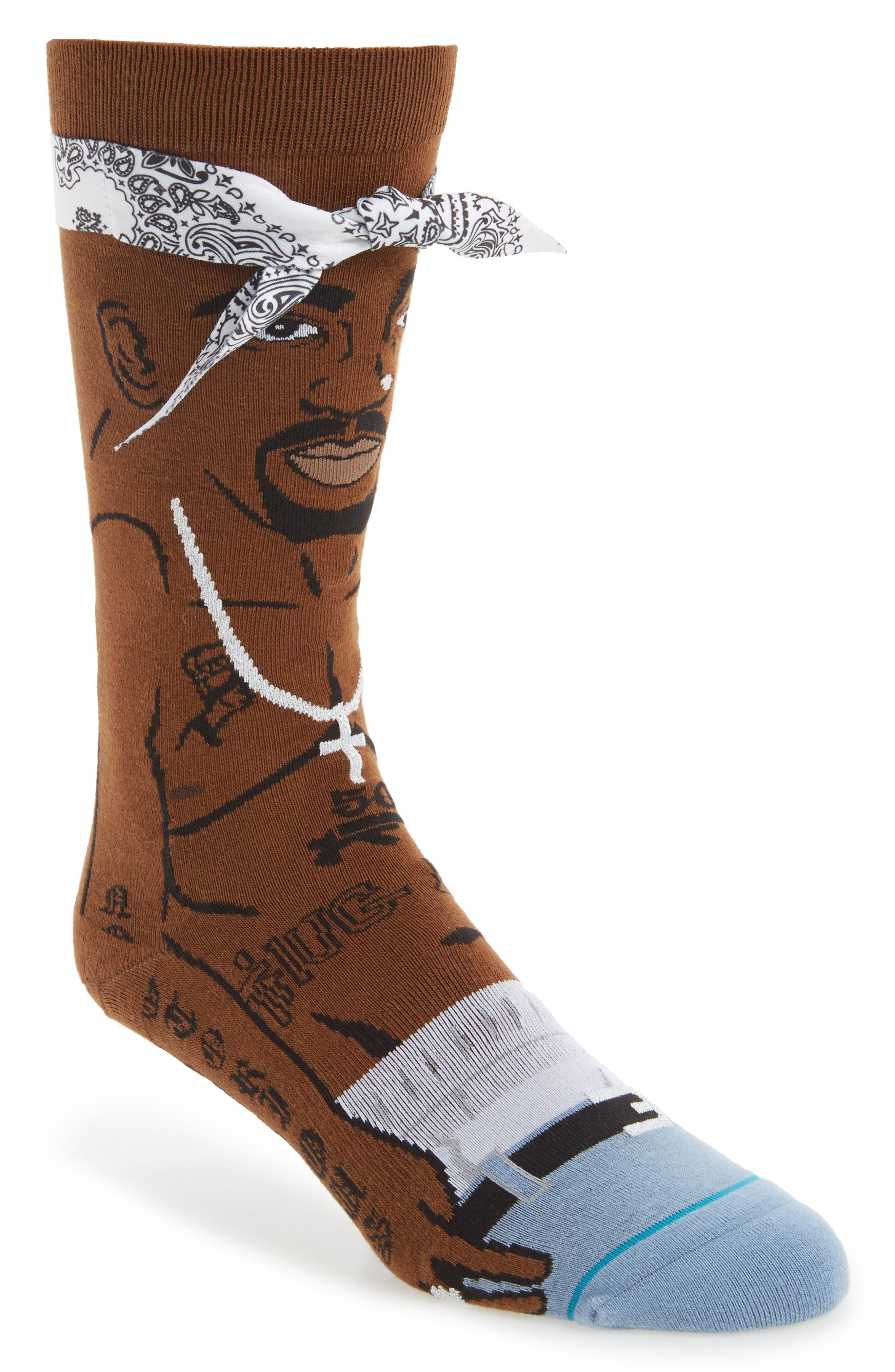 Tupac V2 Socks,                         Main,                         color, 200