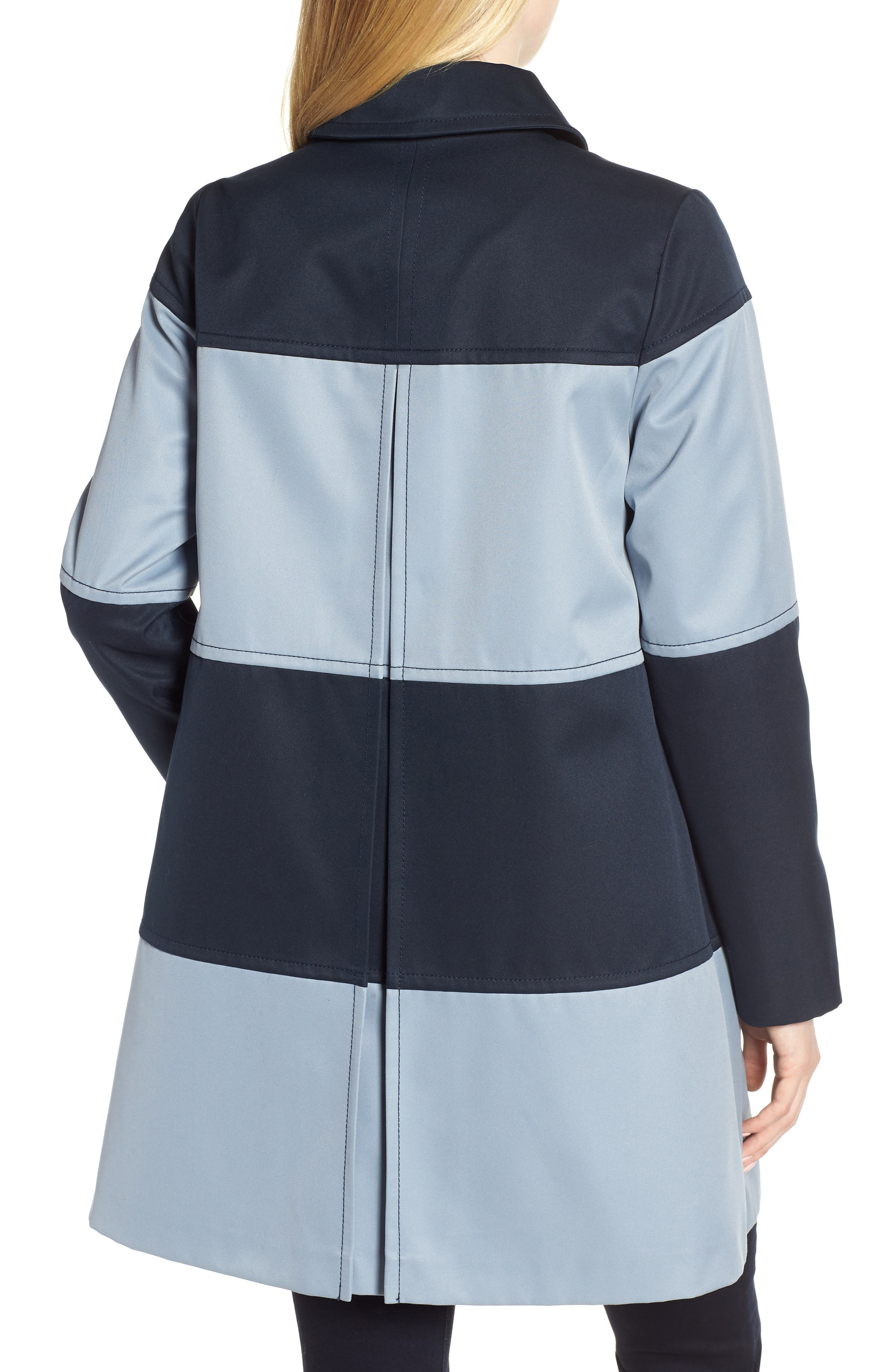 colorblock raincoat,                             Alternate thumbnail 2, color,                             400