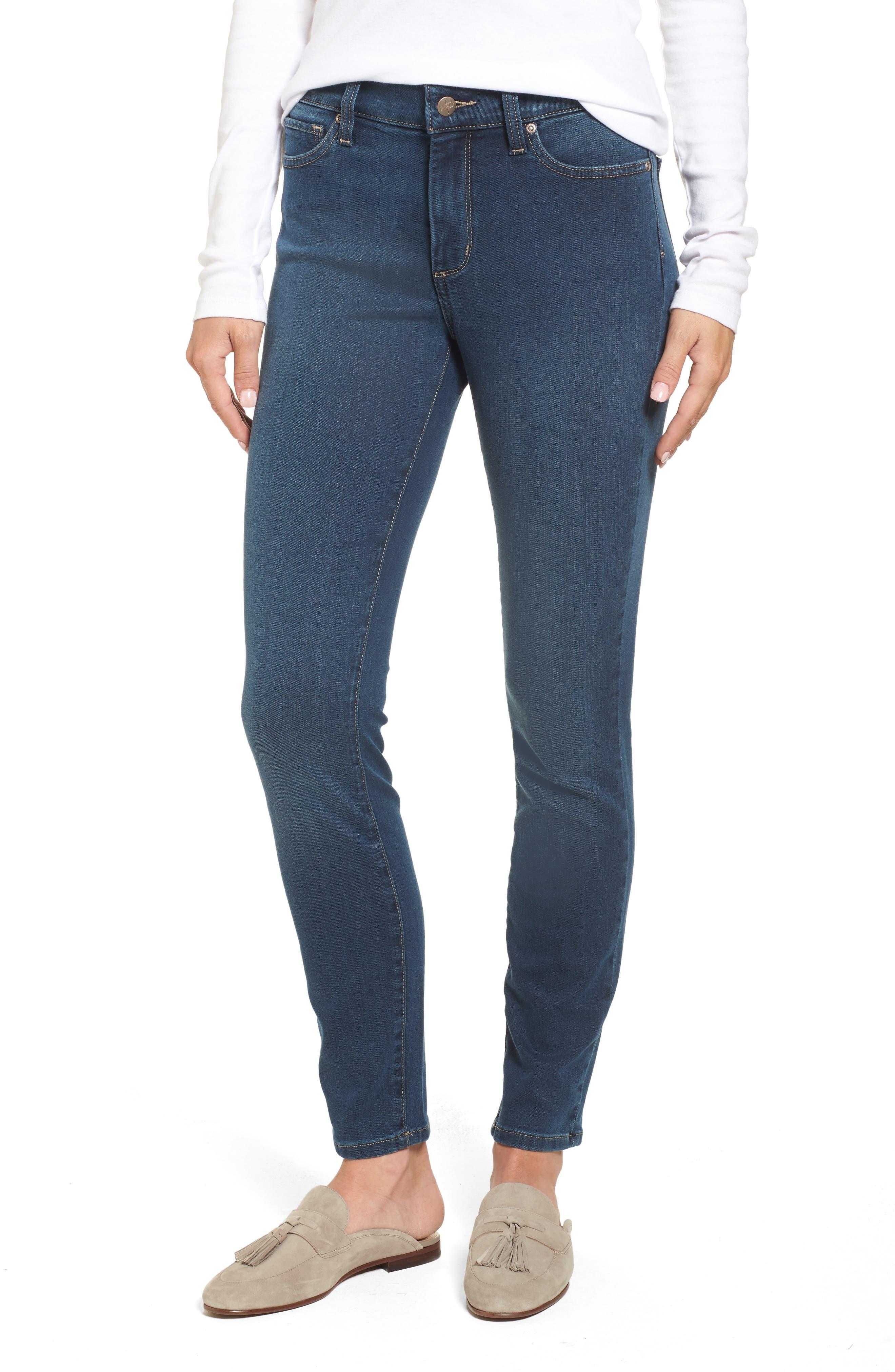 Ami Stretch Super Skinny Jeans,                         Main,                         color, 404
