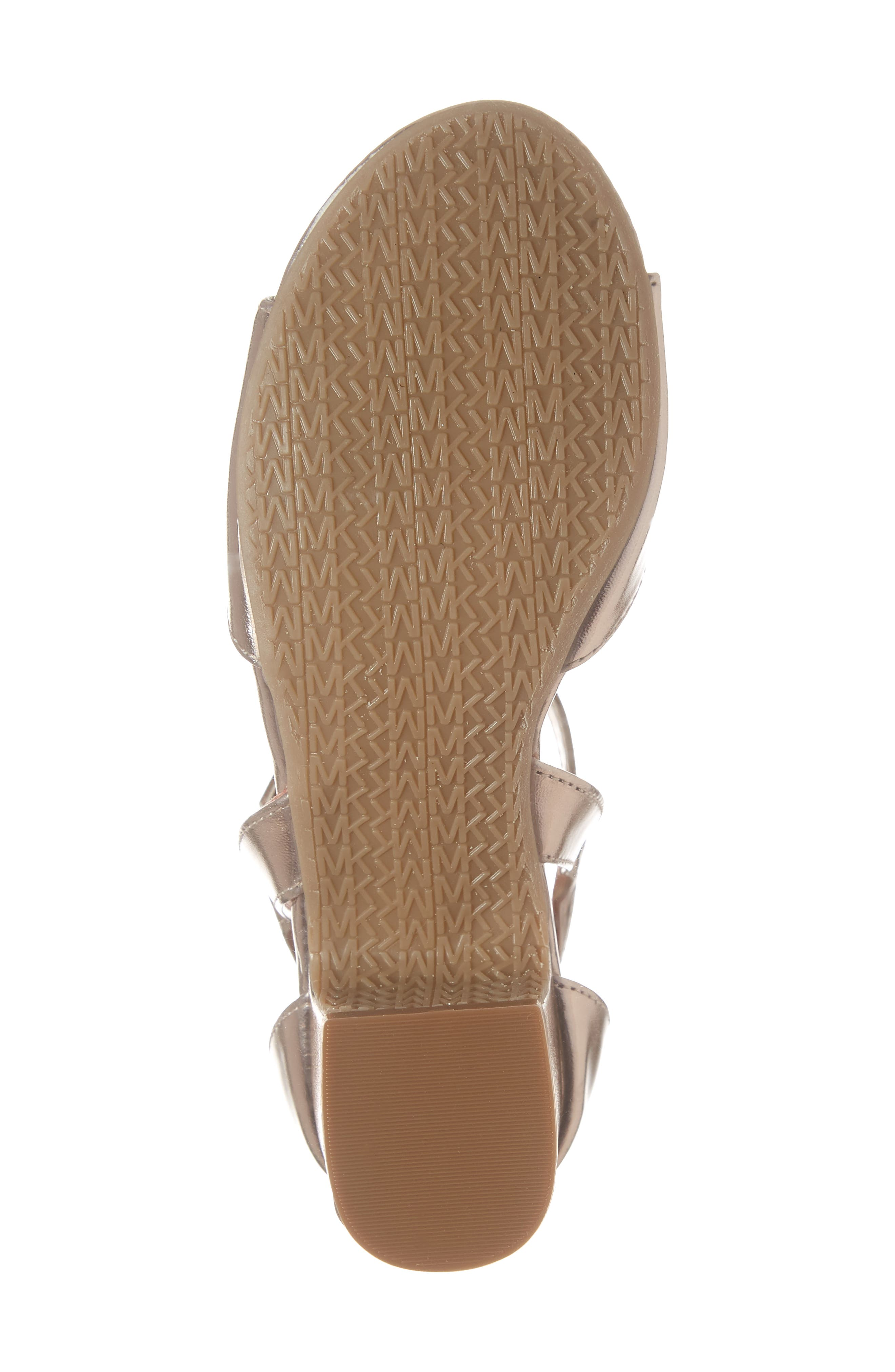 Gemini Jones Sandal,                             Alternate thumbnail 6, color,                             ROSE GOLD