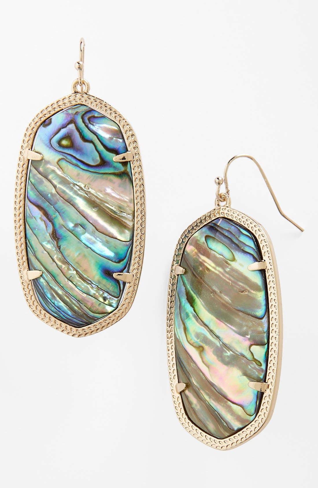 Danielle - Large Oval Statement Earrings,                             Main thumbnail 8, color,