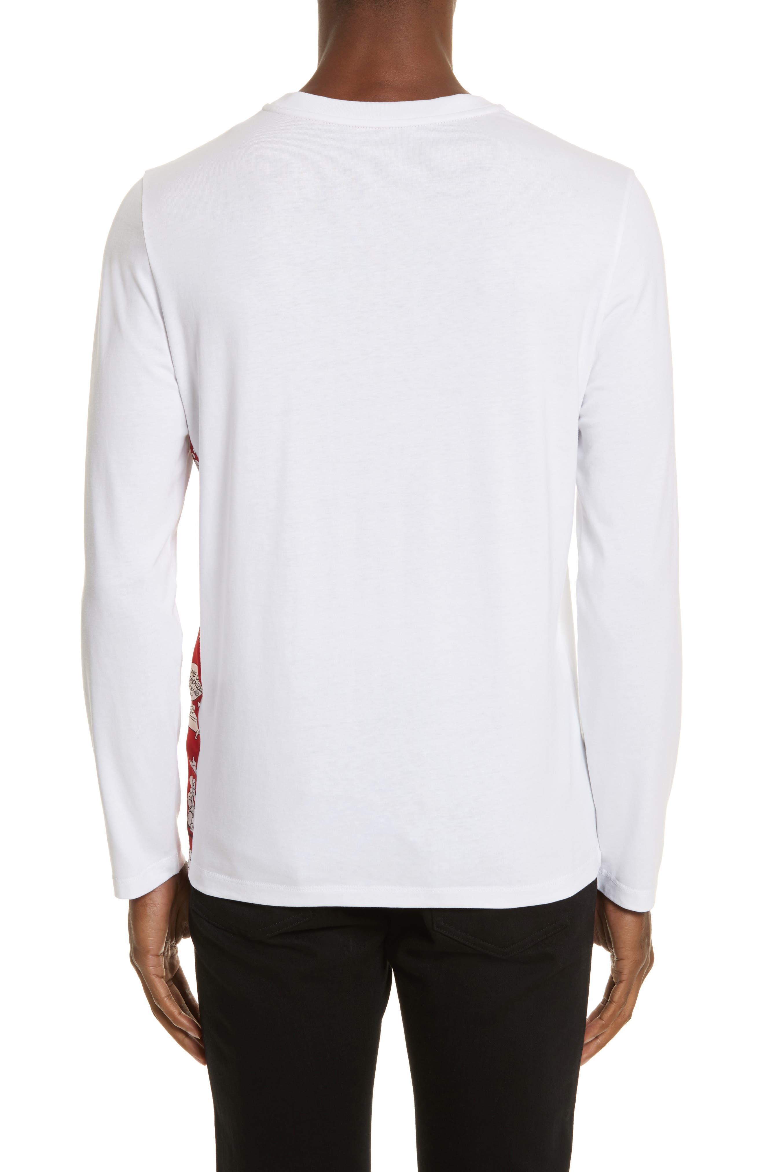 Maglia Griccollo Long Sleeve T-Shirt,                             Alternate thumbnail 2, color,                             100