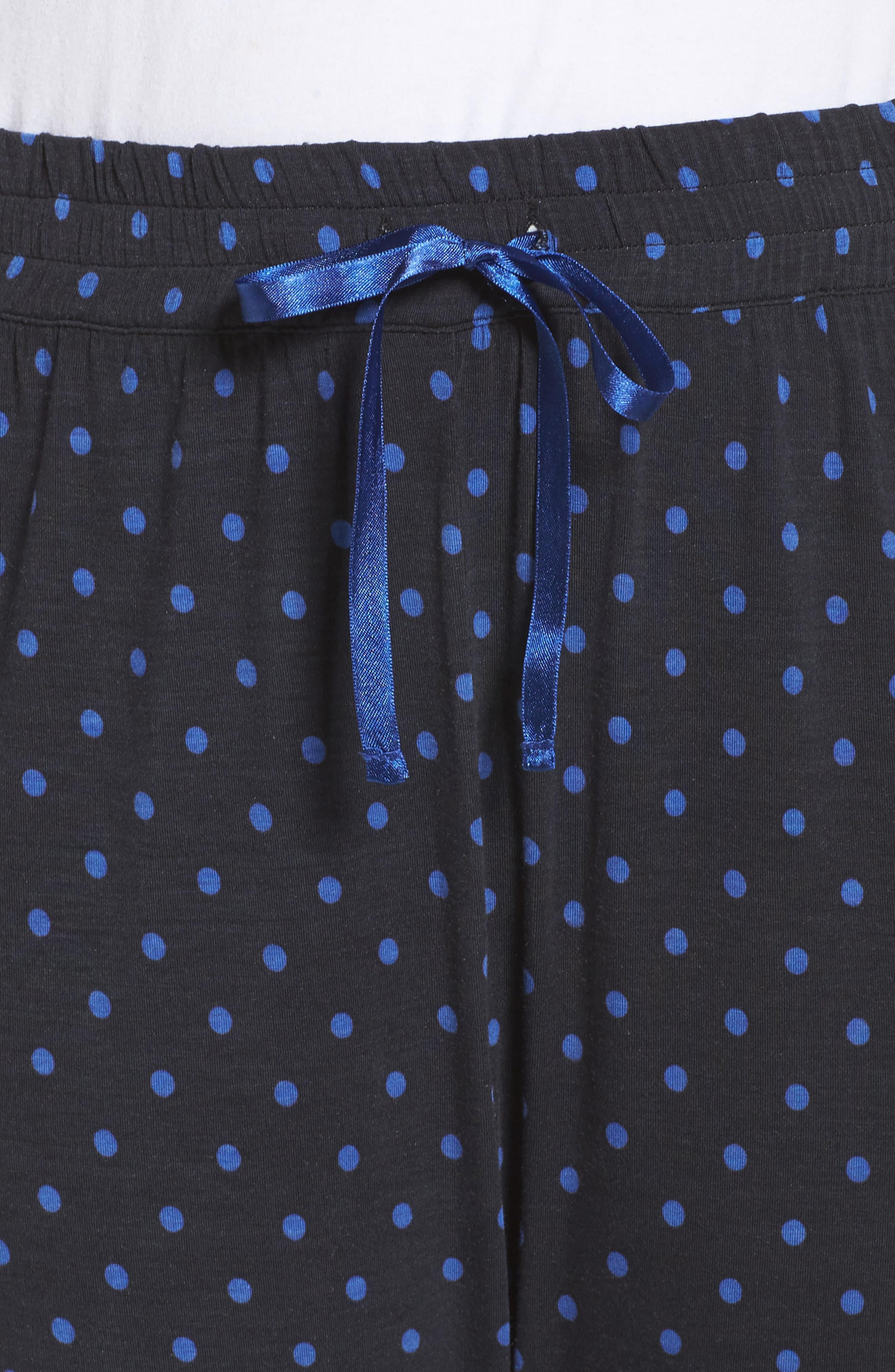 Dot Lounge Pants,                             Alternate thumbnail 4, color,