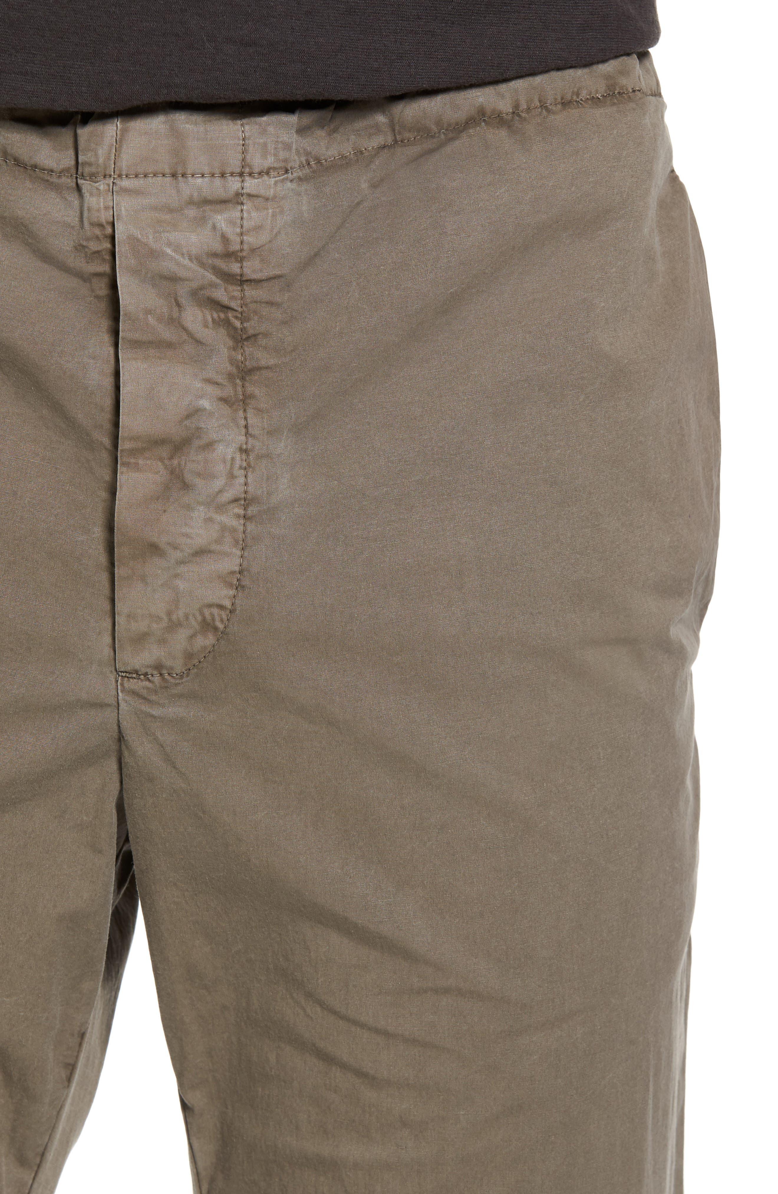 Slim Stretch Poplin Drawcord Pants,                             Alternate thumbnail 15, color,