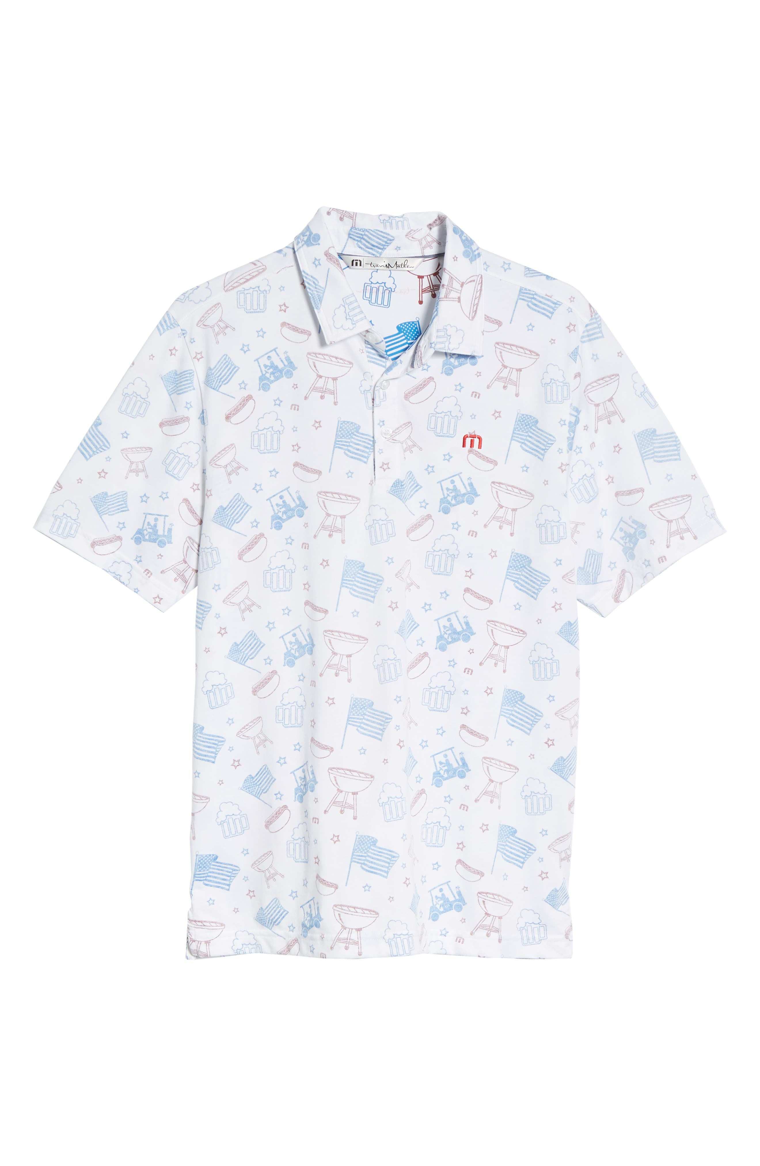 Ahh Yeah Regular Fit Short Sleeve Sport Shirt,                             Alternate thumbnail 6, color,