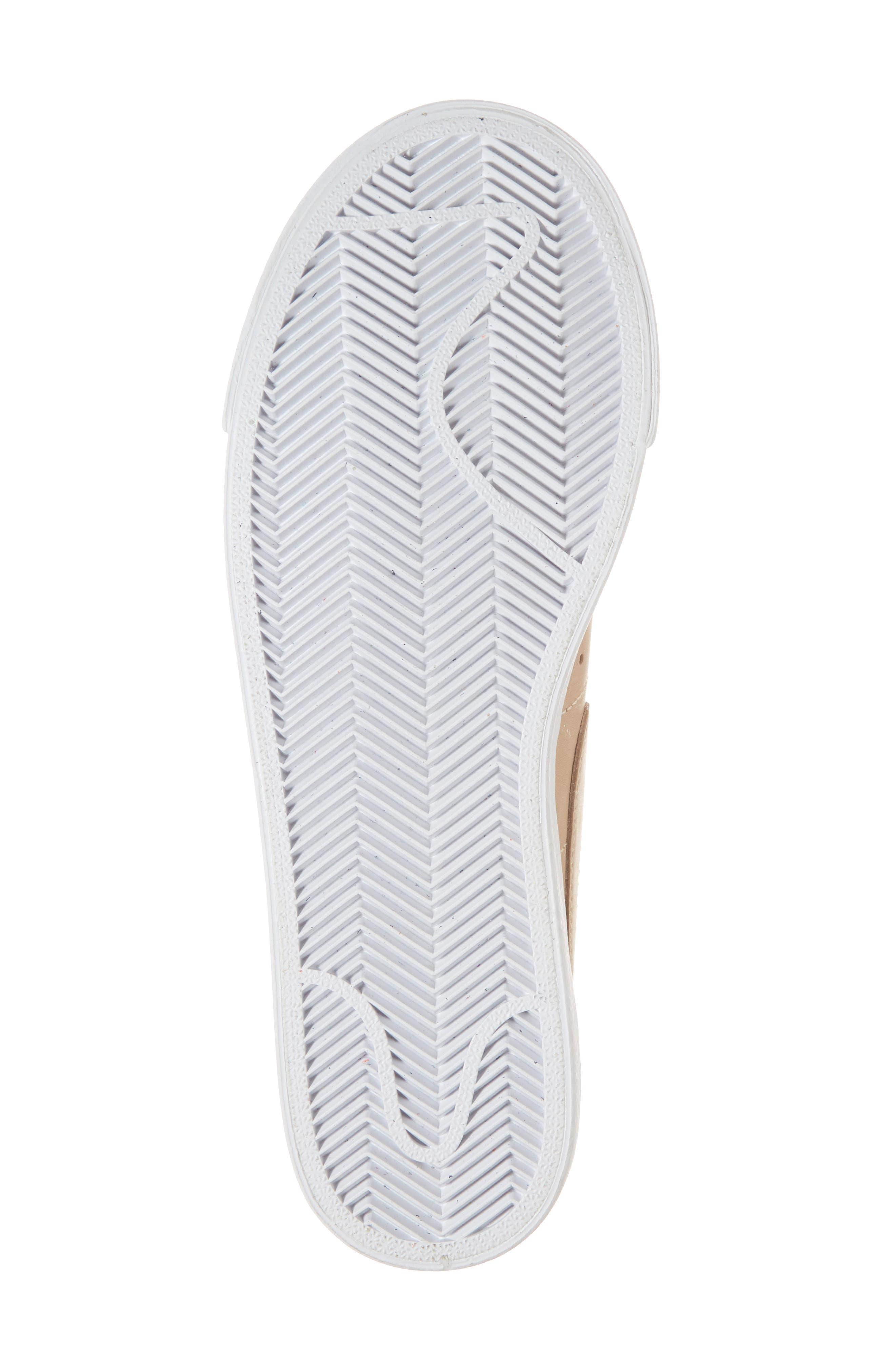 Blazer Low Top Sneaker SE,                             Alternate thumbnail 6, color,                             BIO BEIGE/ BIO BEIGE