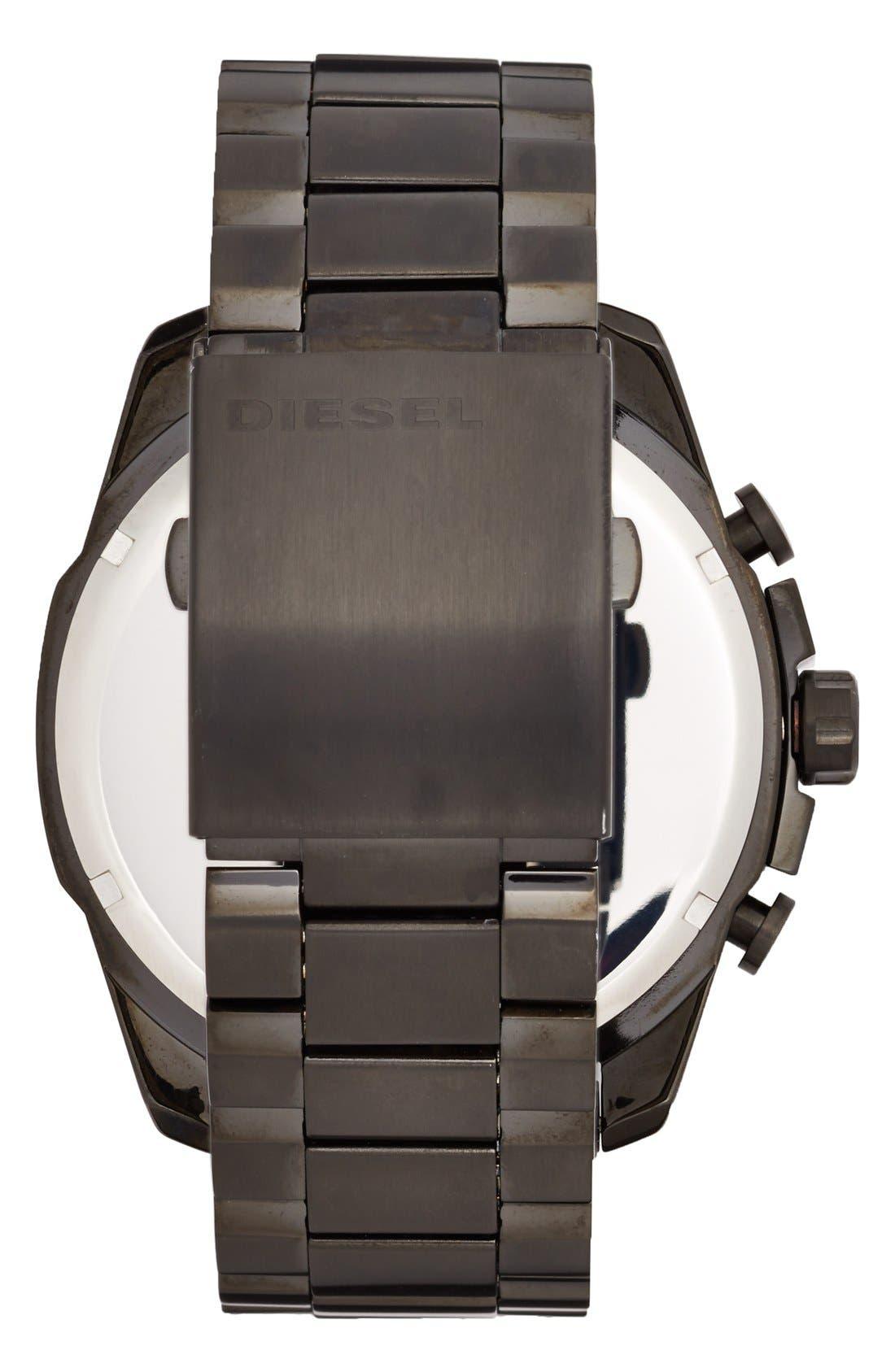 'Mega Chief' Chronograph Bracelet Watch, 51mm,                             Alternate thumbnail 4, color,