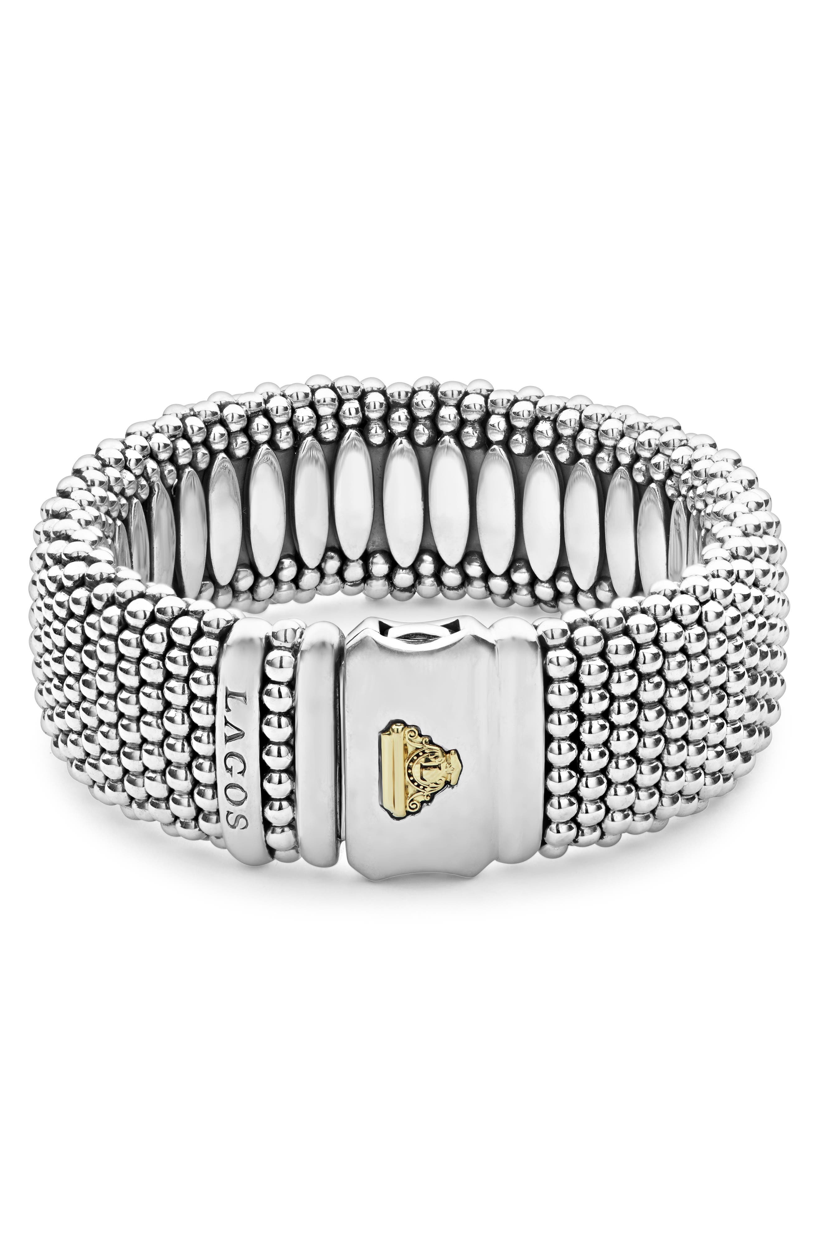 Rope Bracelet,                             Alternate thumbnail 2, color,                             SILVER/ GOLD