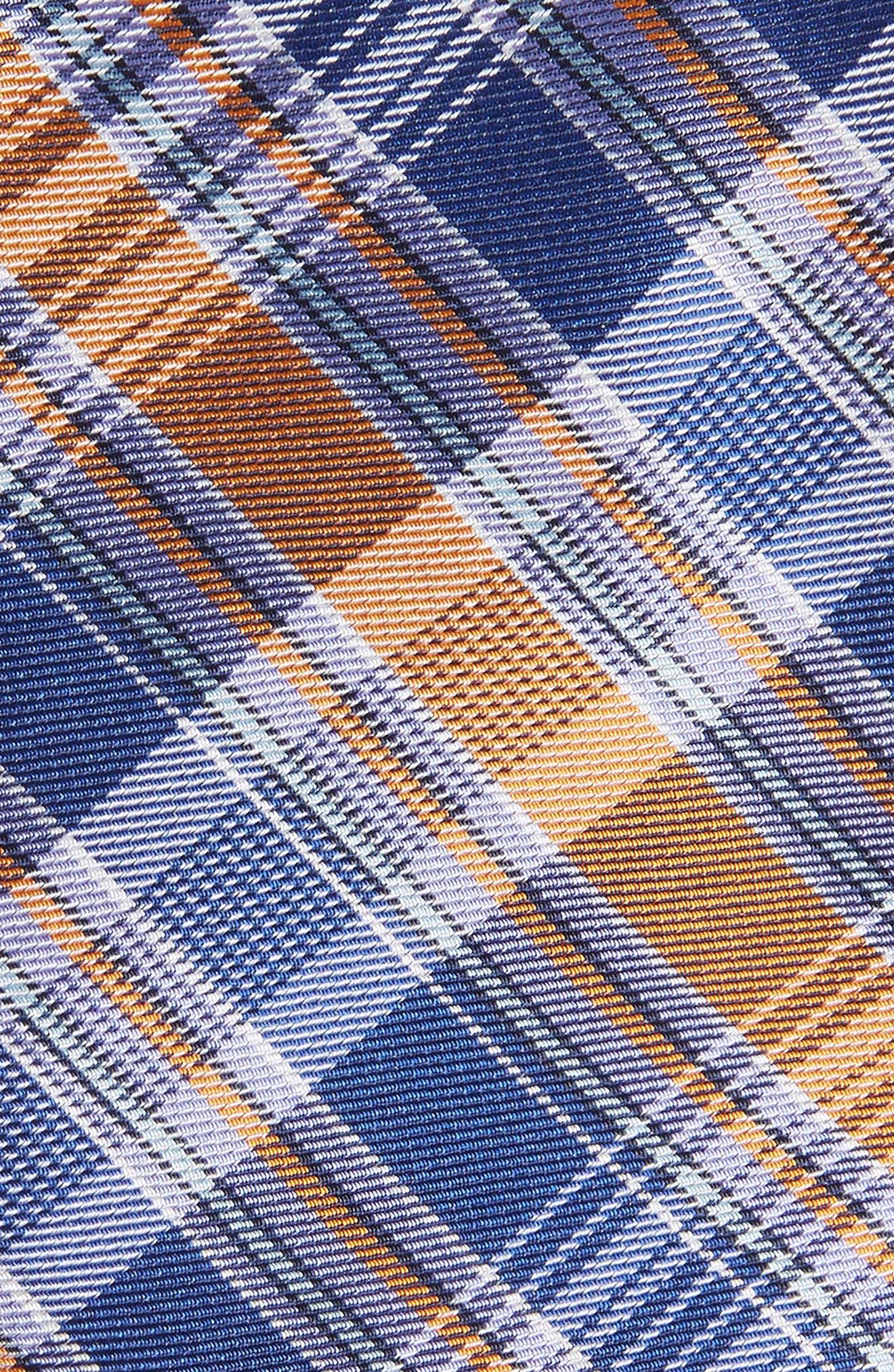 Sassafrass Plaid Silk Tie,                             Alternate thumbnail 4, color,