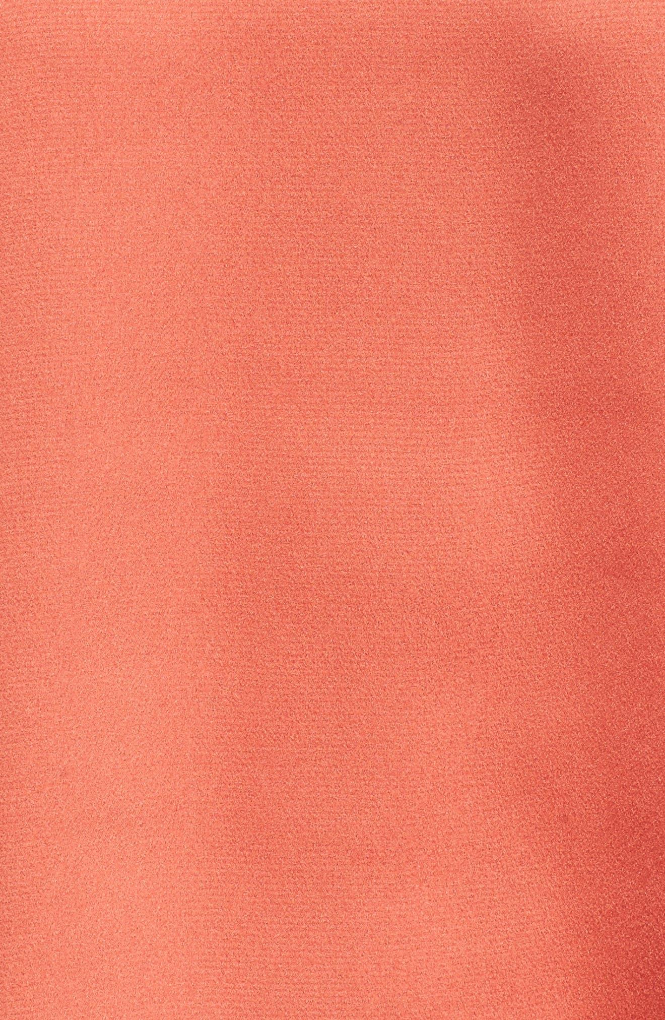 Bubble Sleeve Satin Top,                             Alternate thumbnail 30, color,