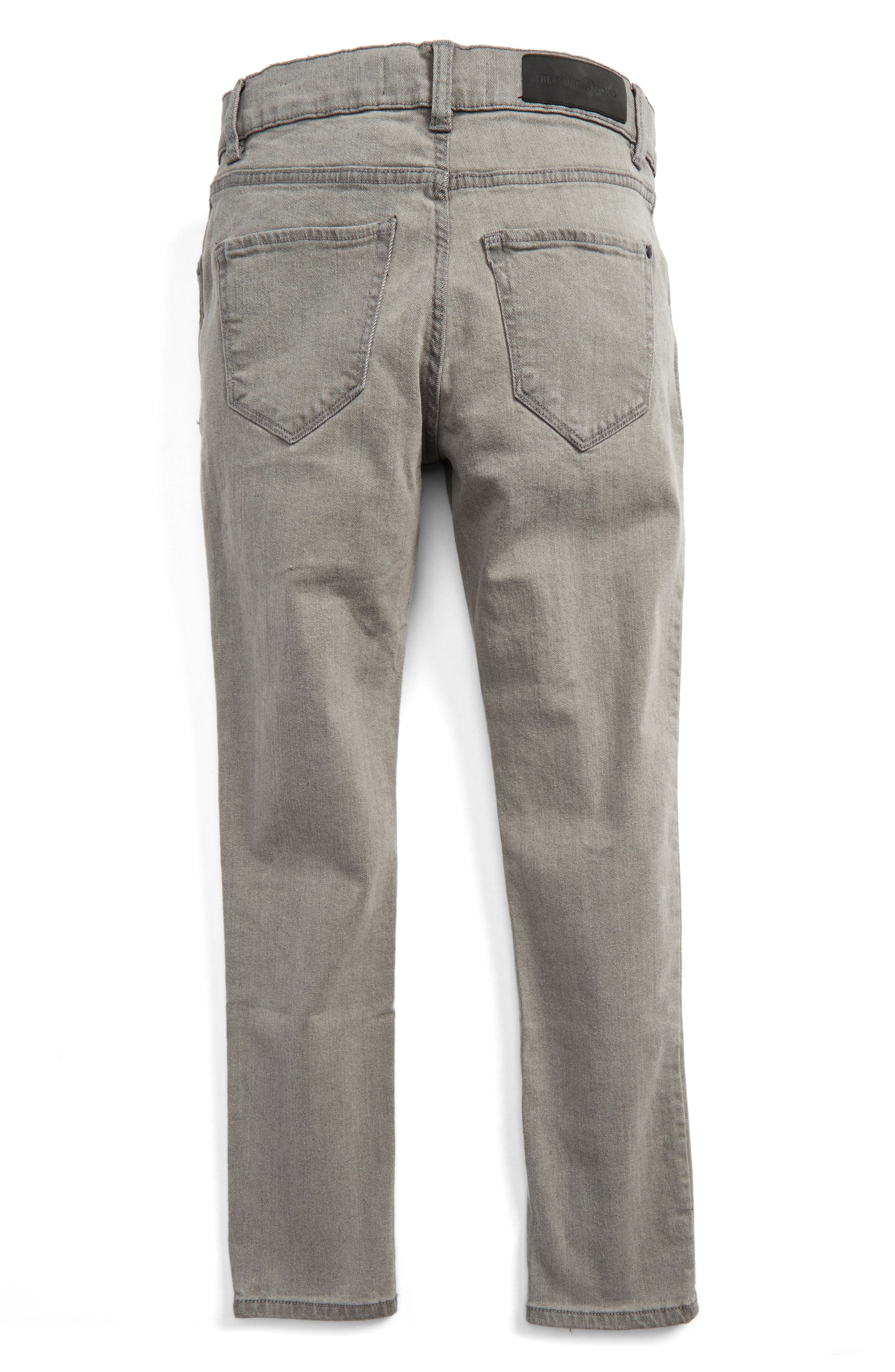 Slouch Skinny Jeans,                             Alternate thumbnail 2, color,                             030