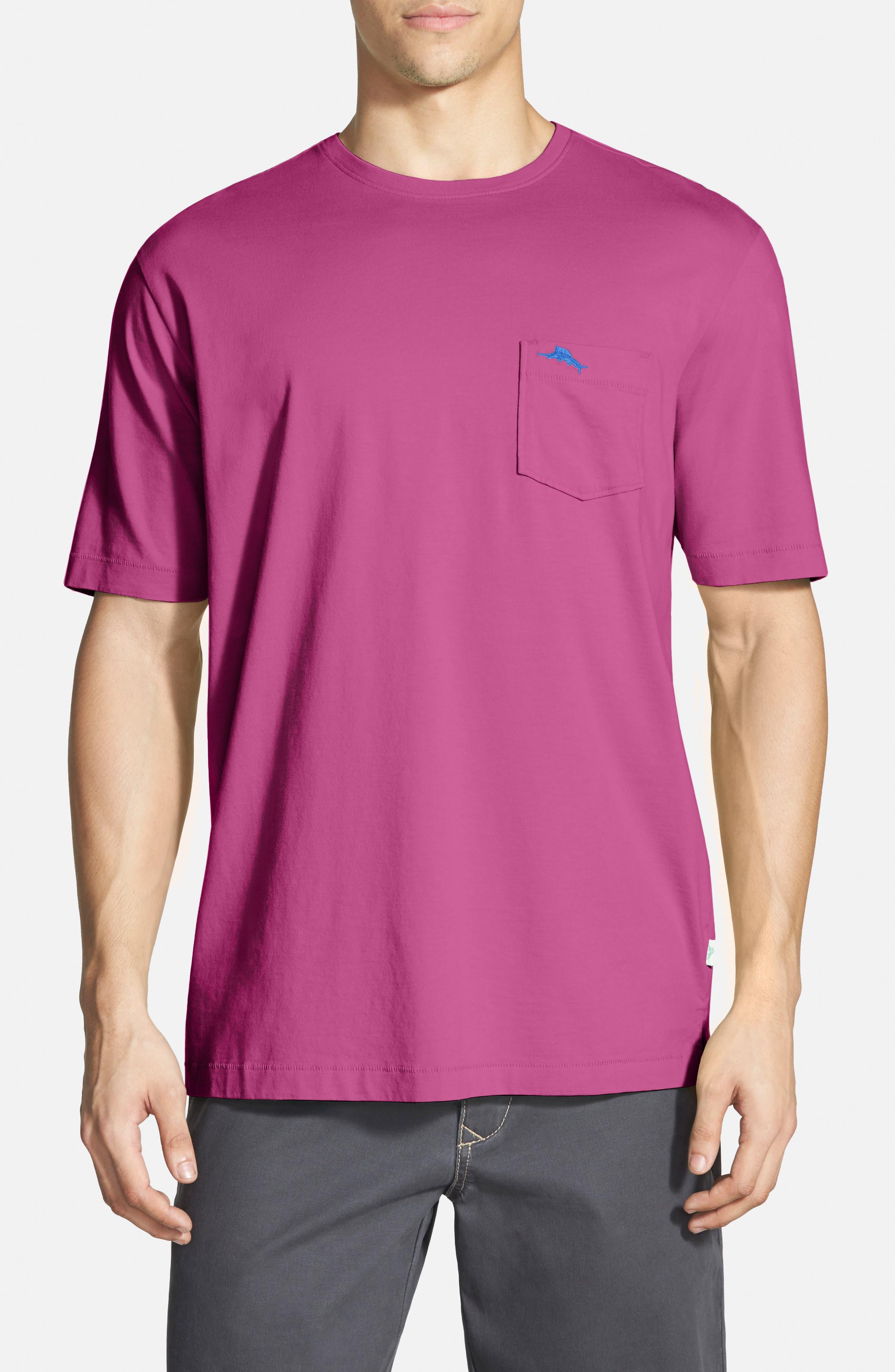 New Bali Sky Pima Cotton Pocket T-Shirt,                             Main thumbnail 45, color,