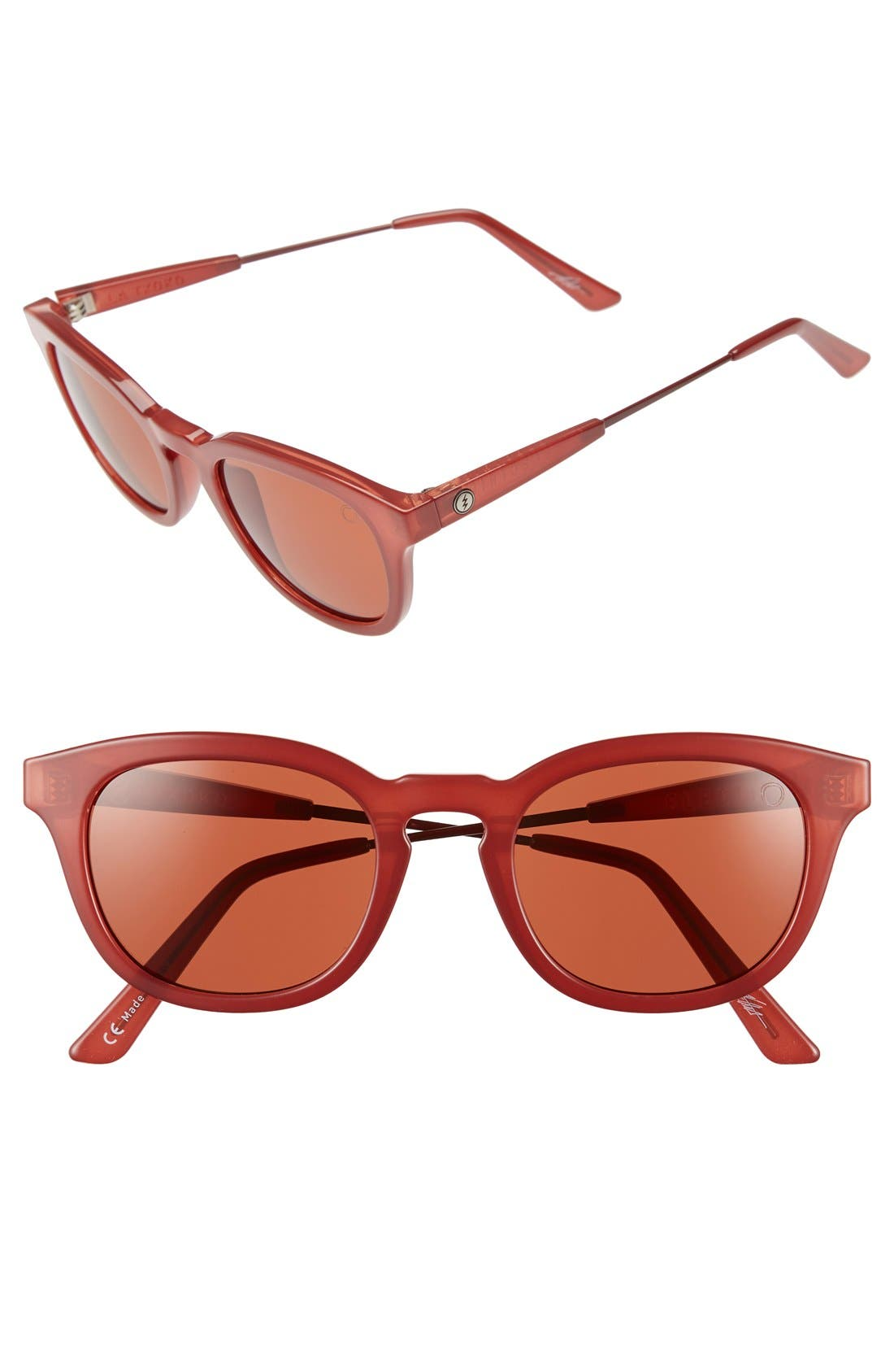'La Txoko' 51mm Retro Sunglasses,                             Main thumbnail 1, color,                             600