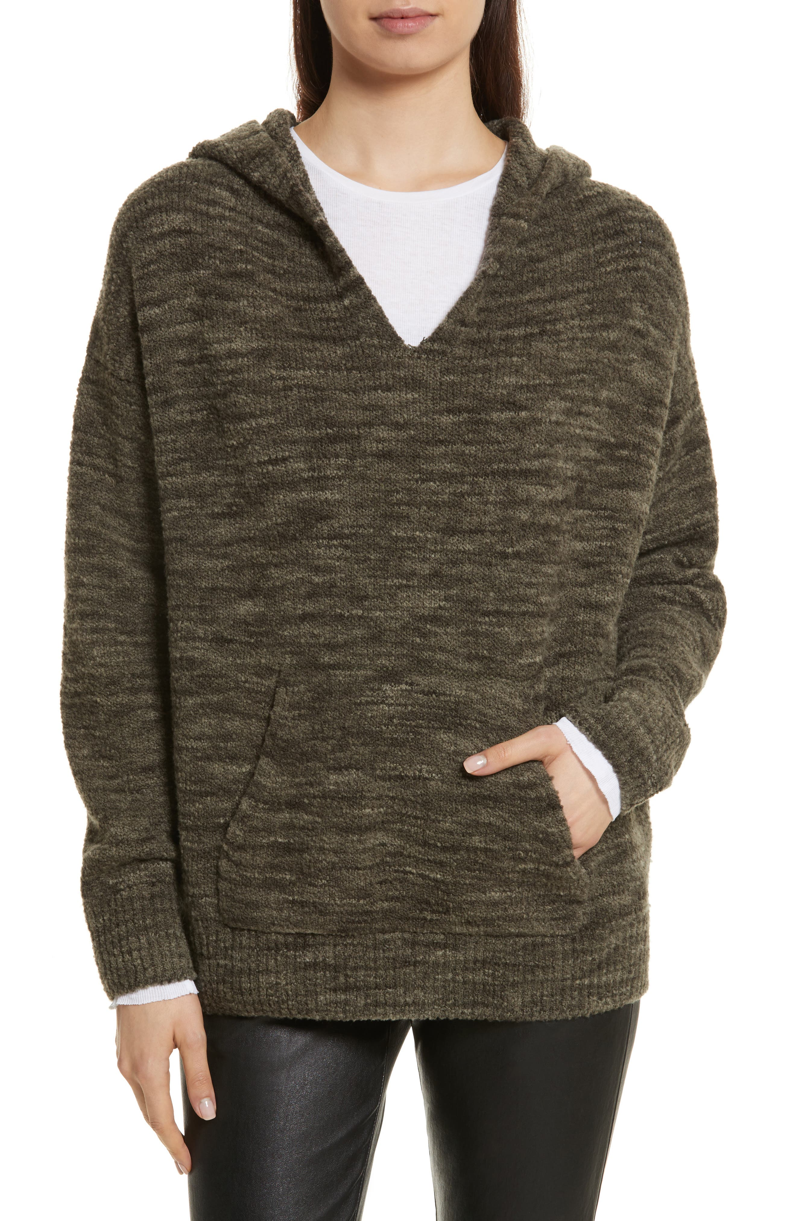 Space Dye Hoodie Sweater,                             Main thumbnail 1, color,                             343