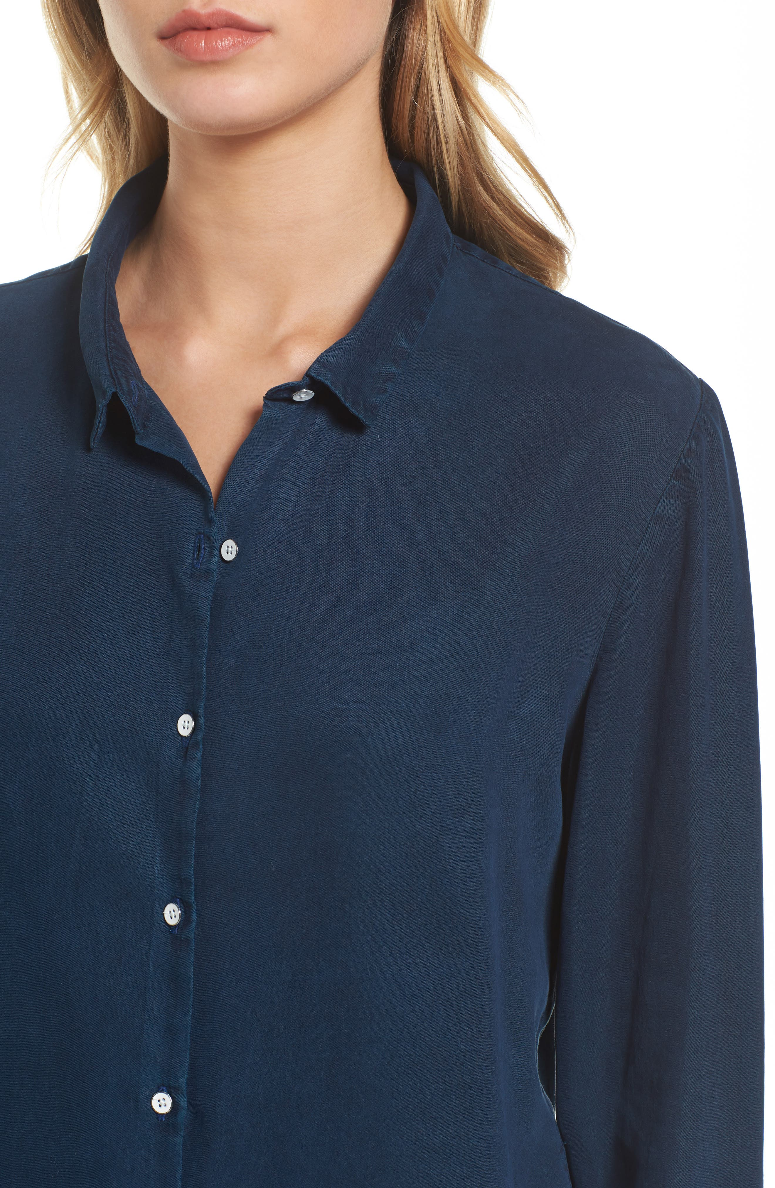 x The Blue Shirt Shop W 4th & Jane Slim Fit Shirt,                             Alternate thumbnail 4, color,                             405