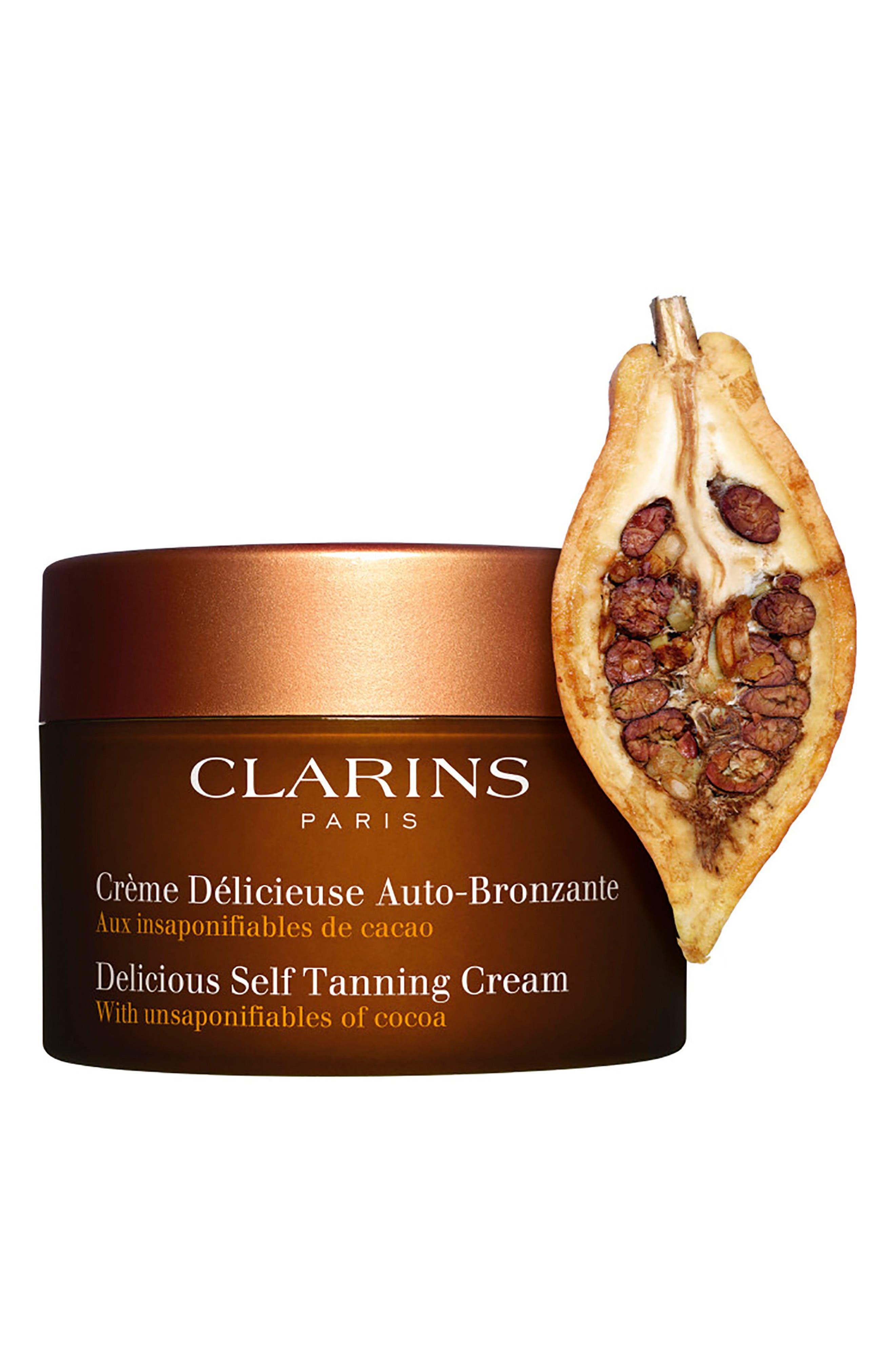 Delicious Self-Tanning Cream,                             Alternate thumbnail 3, color,                             000