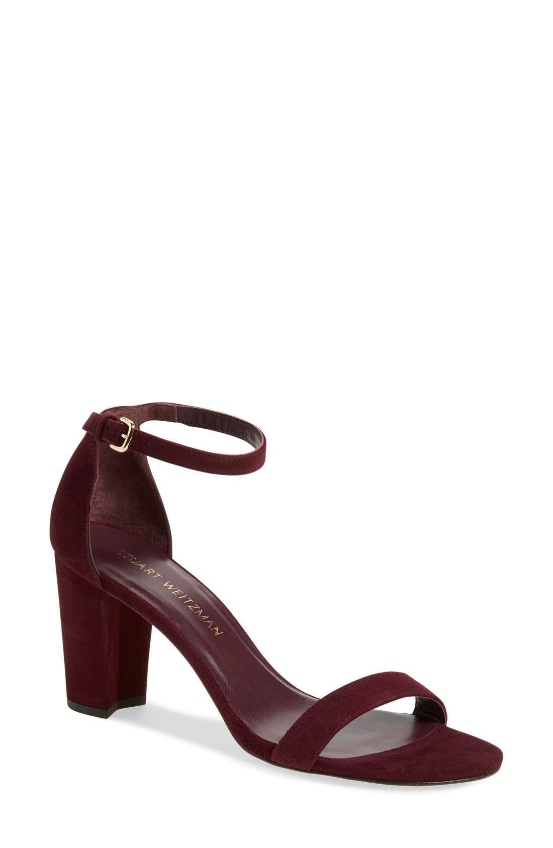 NearlyNude Ankle Strap Sandal,                             Main thumbnail 24, color,