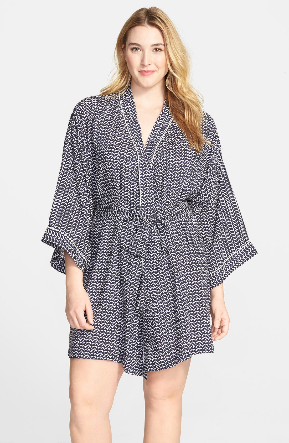 Nordstrom 'Sweet Dreams' Woven Robe,                             Main thumbnail 1, color,                             410