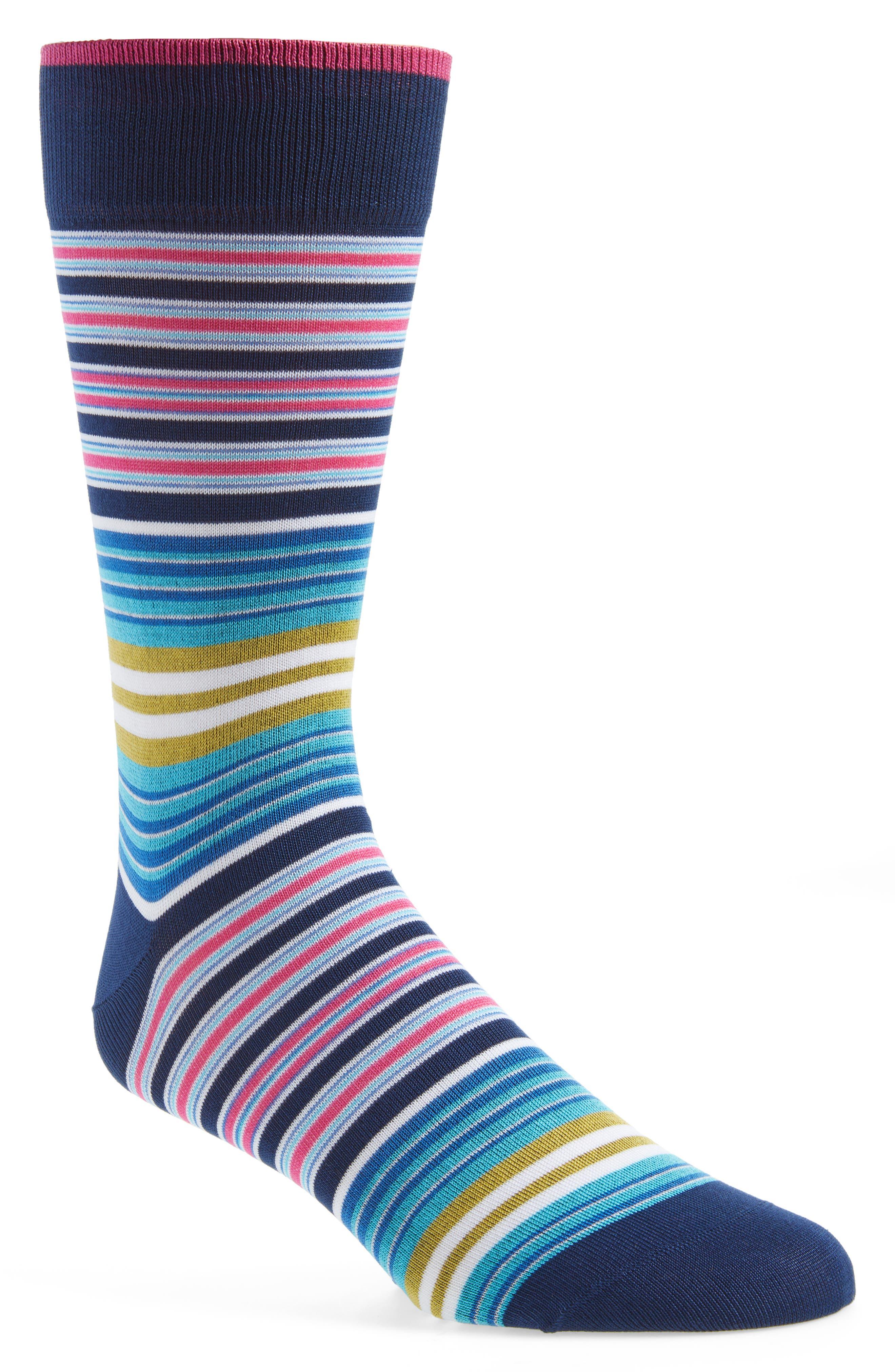Stripe Socks,                         Main,                         color, 411