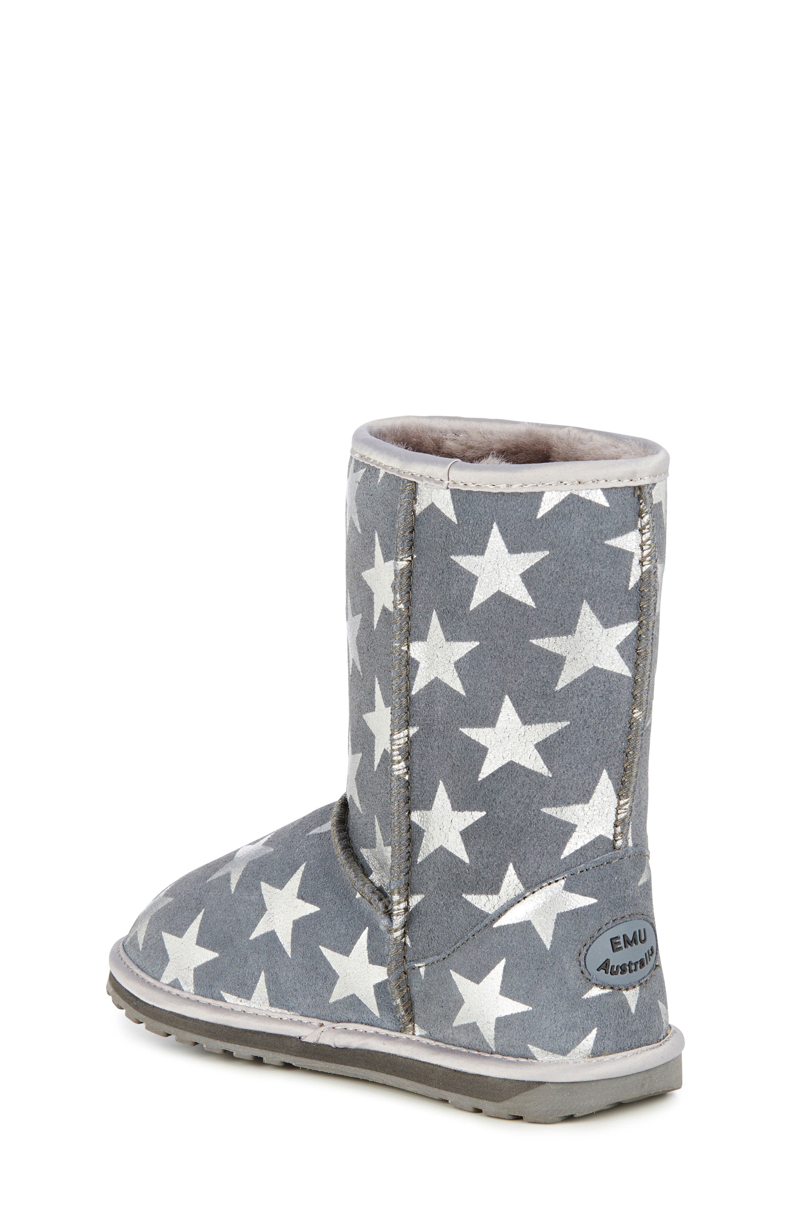 EMUAustralia Starry Night Boot,                             Alternate thumbnail 2, color,                             CHARCOAL