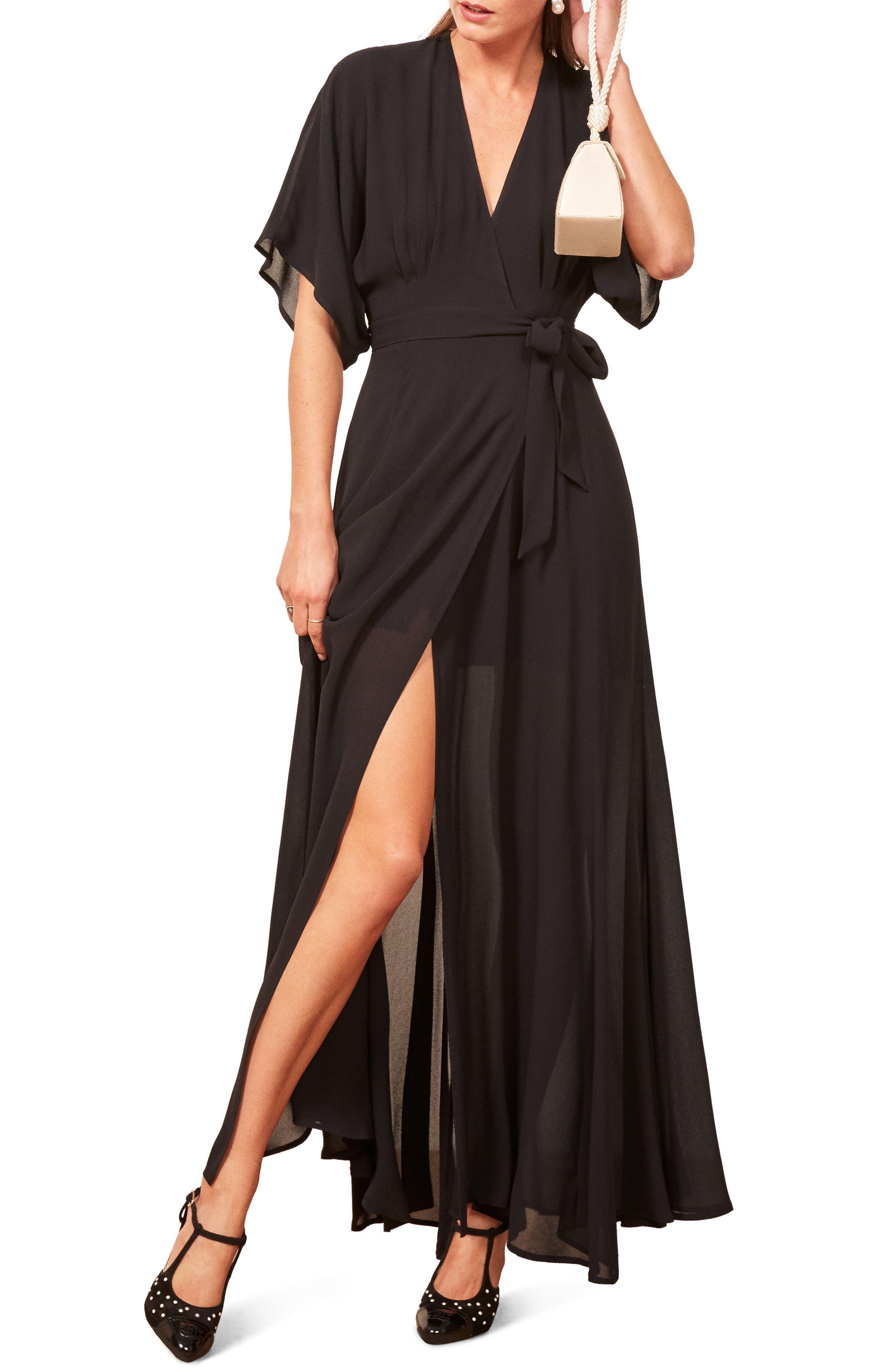 Winslow Maxi Dress,                             Main thumbnail 1, color,                             BLACK