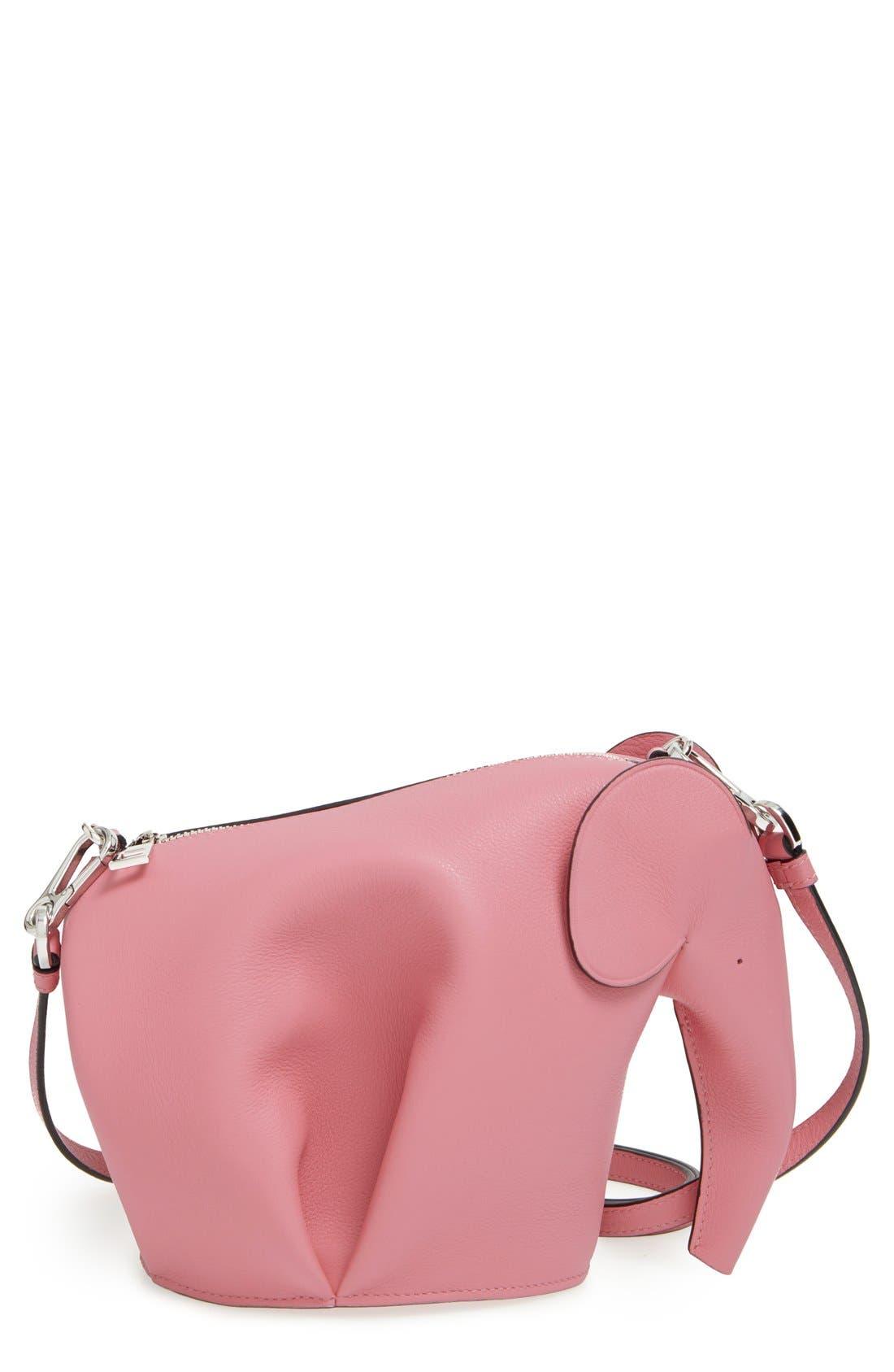 'Mini Elephant' Crossbody Bag,                             Main thumbnail 7, color,