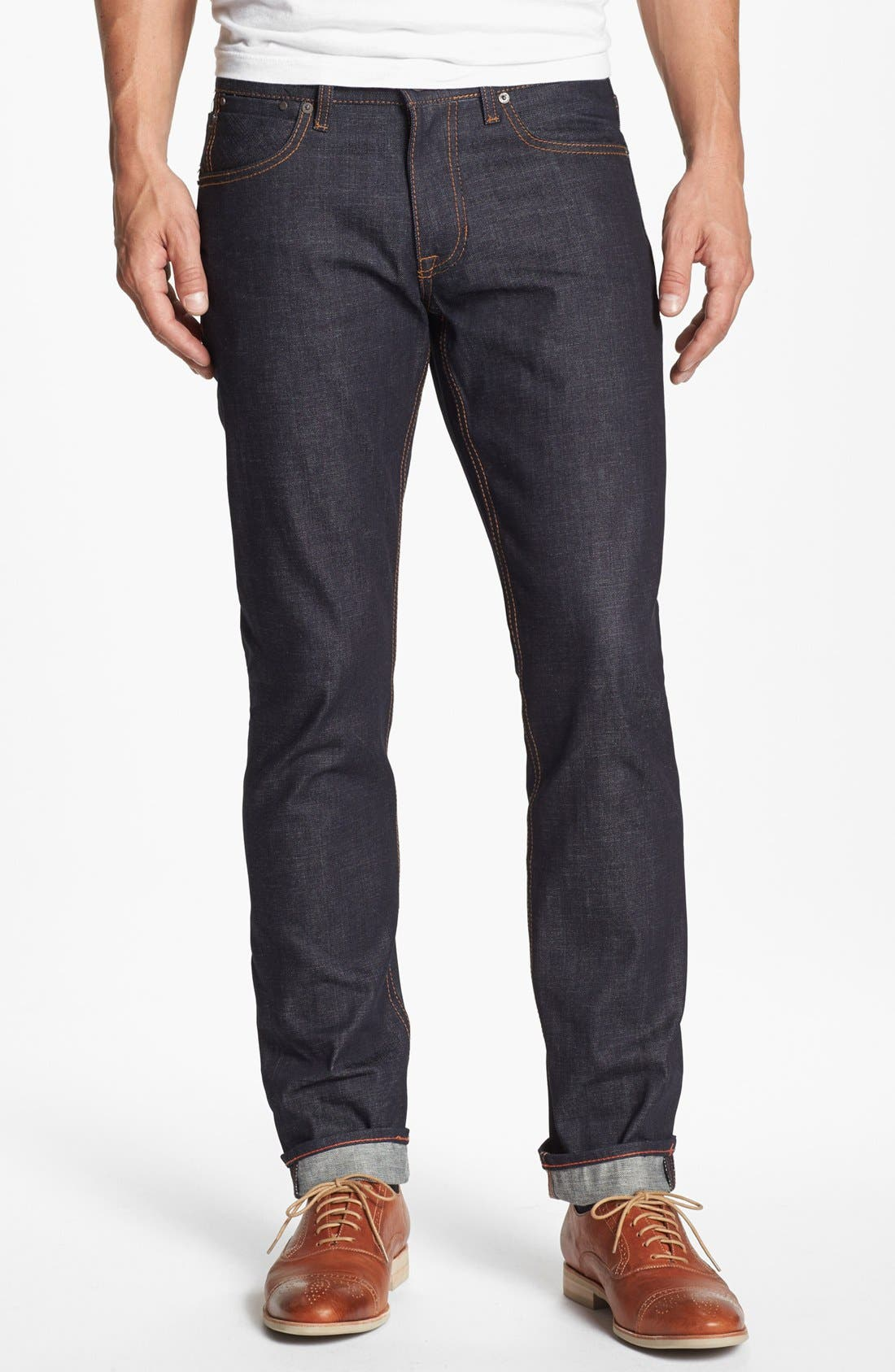 'Grand Street' Slim Fit Jeans,                             Main thumbnail 1, color,                             400