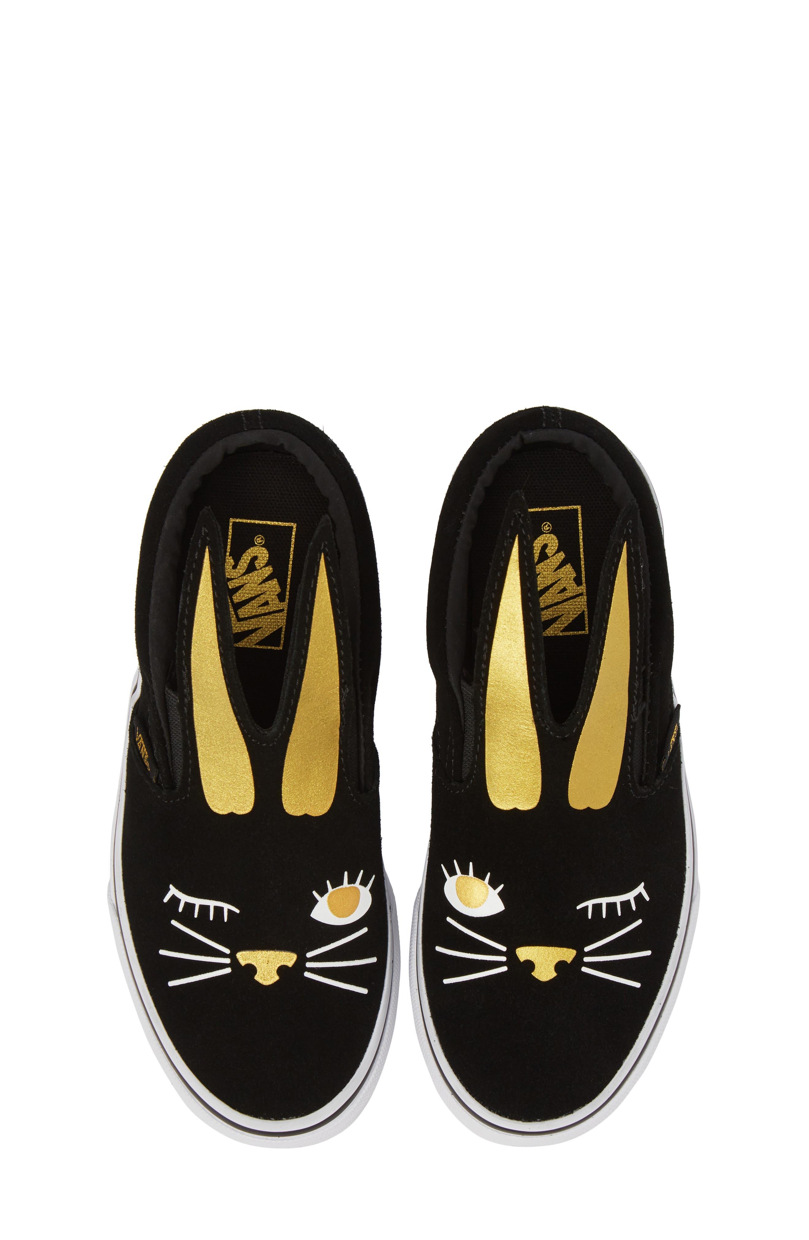 Slip-On Bunny Sneaker,                             Main thumbnail 1, color,