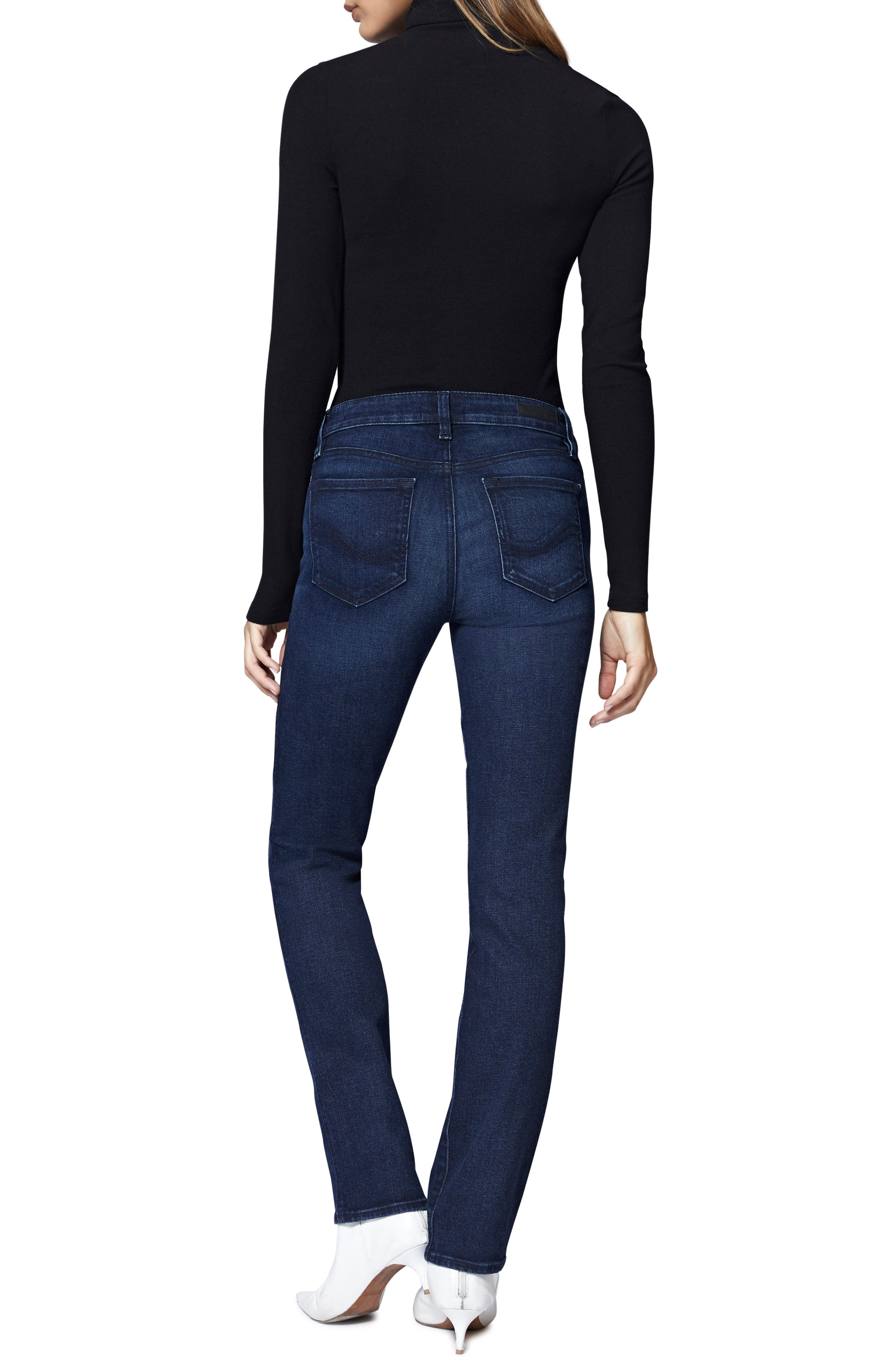 SANCTUARY,                             Social High Rise Raw Hem Skinny Ankle Jeans,                             Alternate thumbnail 5, color,                             401