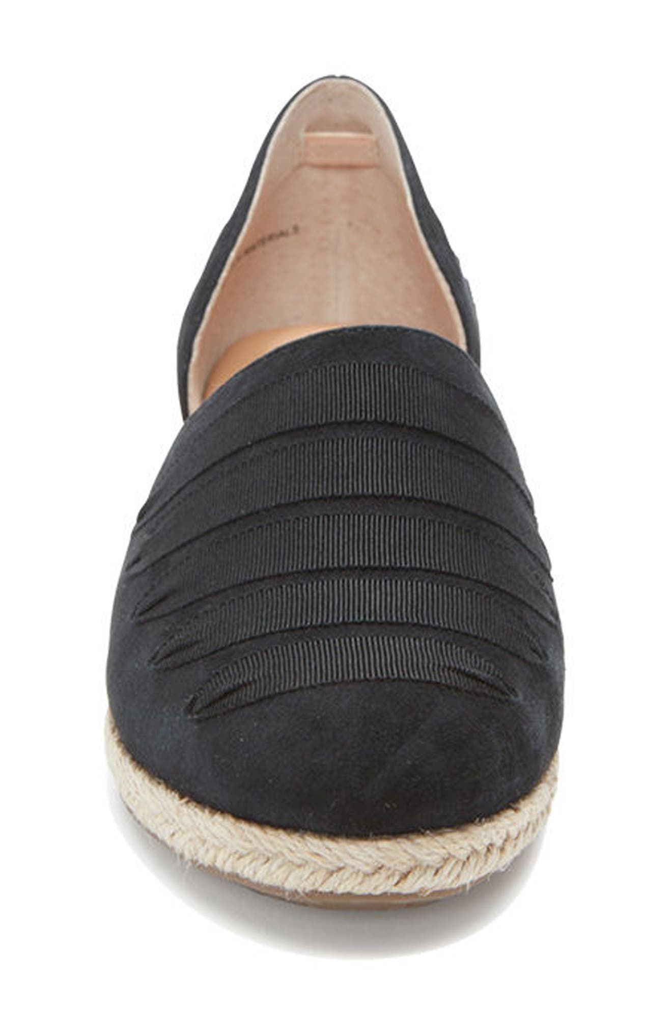 Netta Espadrille Wedge,                             Alternate thumbnail 4, color,                             014