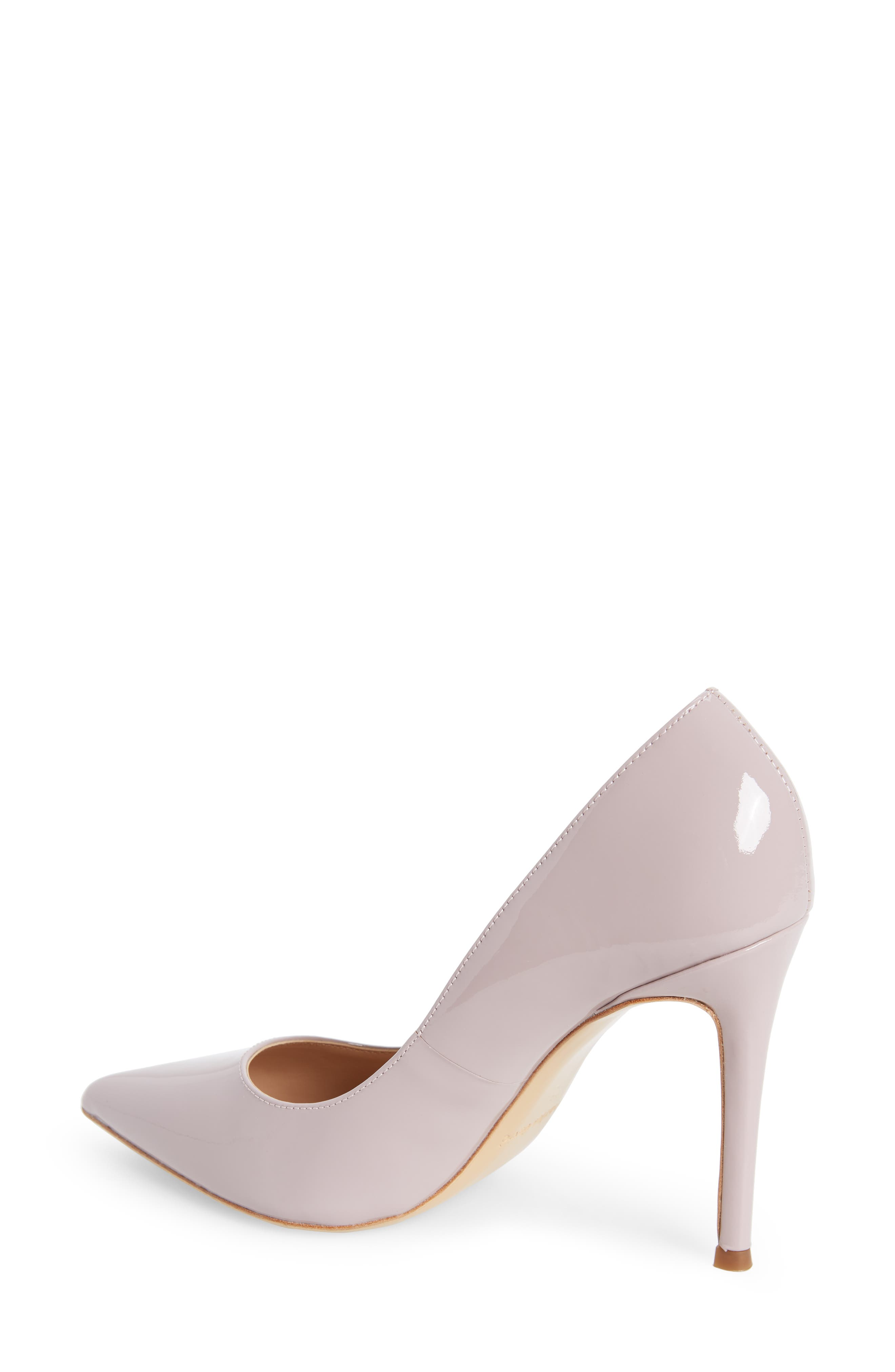 Calessi Pointy Toe Pump,                             Alternate thumbnail 2, color,                             LAVENDER PATENT LEATHER