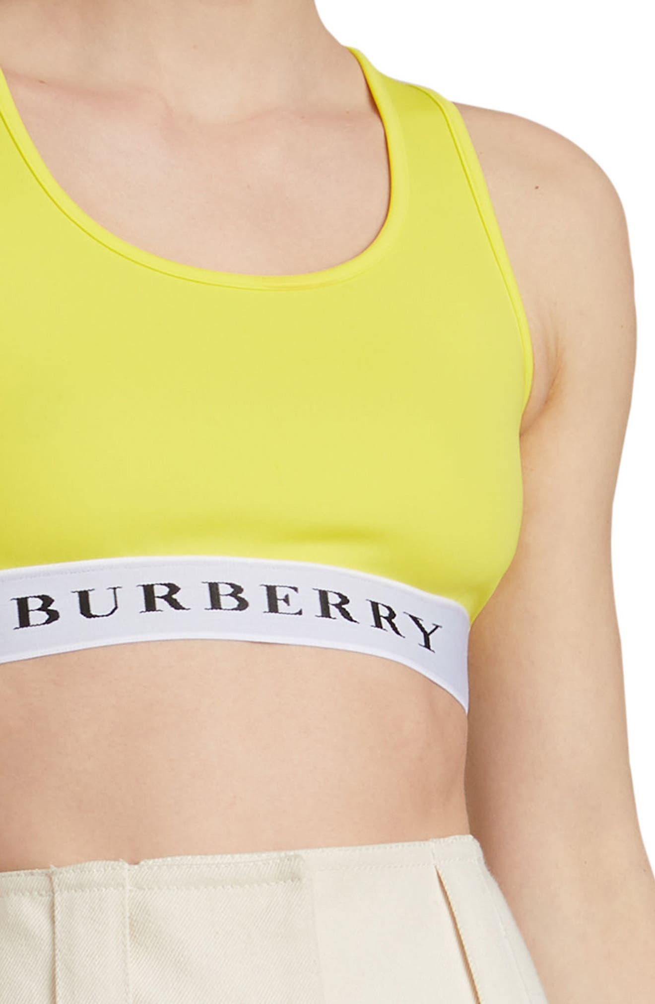 Betwa Sports Bra,                             Alternate thumbnail 3, color,                             BRIGHT YELLOW